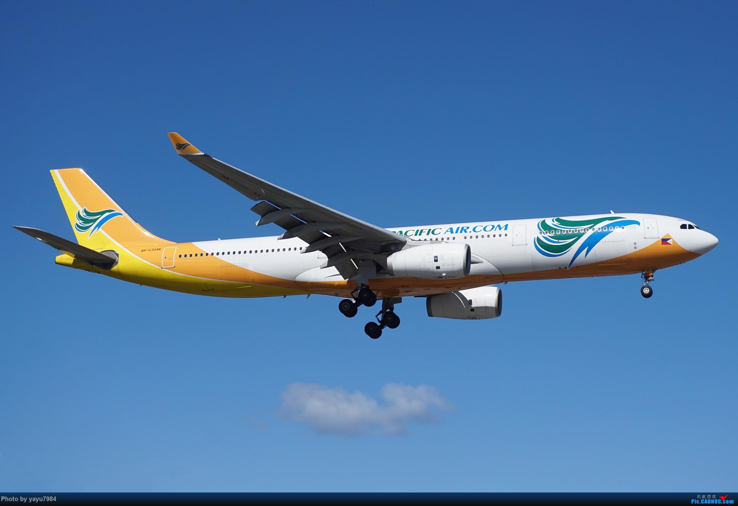 Re:[原创][SYD] 25跑道头打卡,有幸收集到4架MU的A332 AIRBUS A330-300 RP-C3346 澳大利亚悉尼金斯福德·史密斯机场