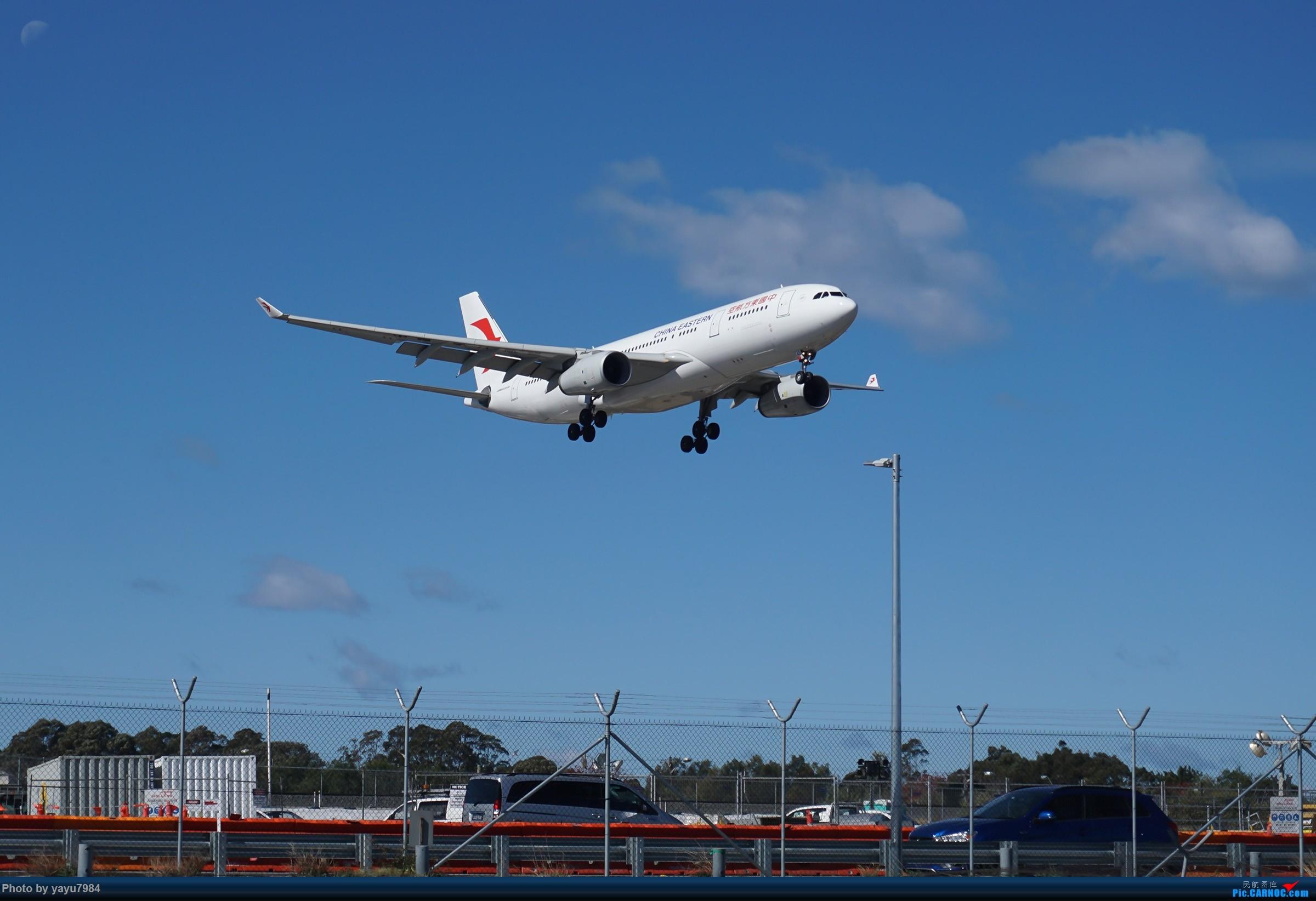 Re:[原创][SYD] 25跑道头打卡,有幸收集到4架MU的A332 AIRBUS A330-200 B-6543 澳大利亚悉尼金斯福德·史密斯机场
