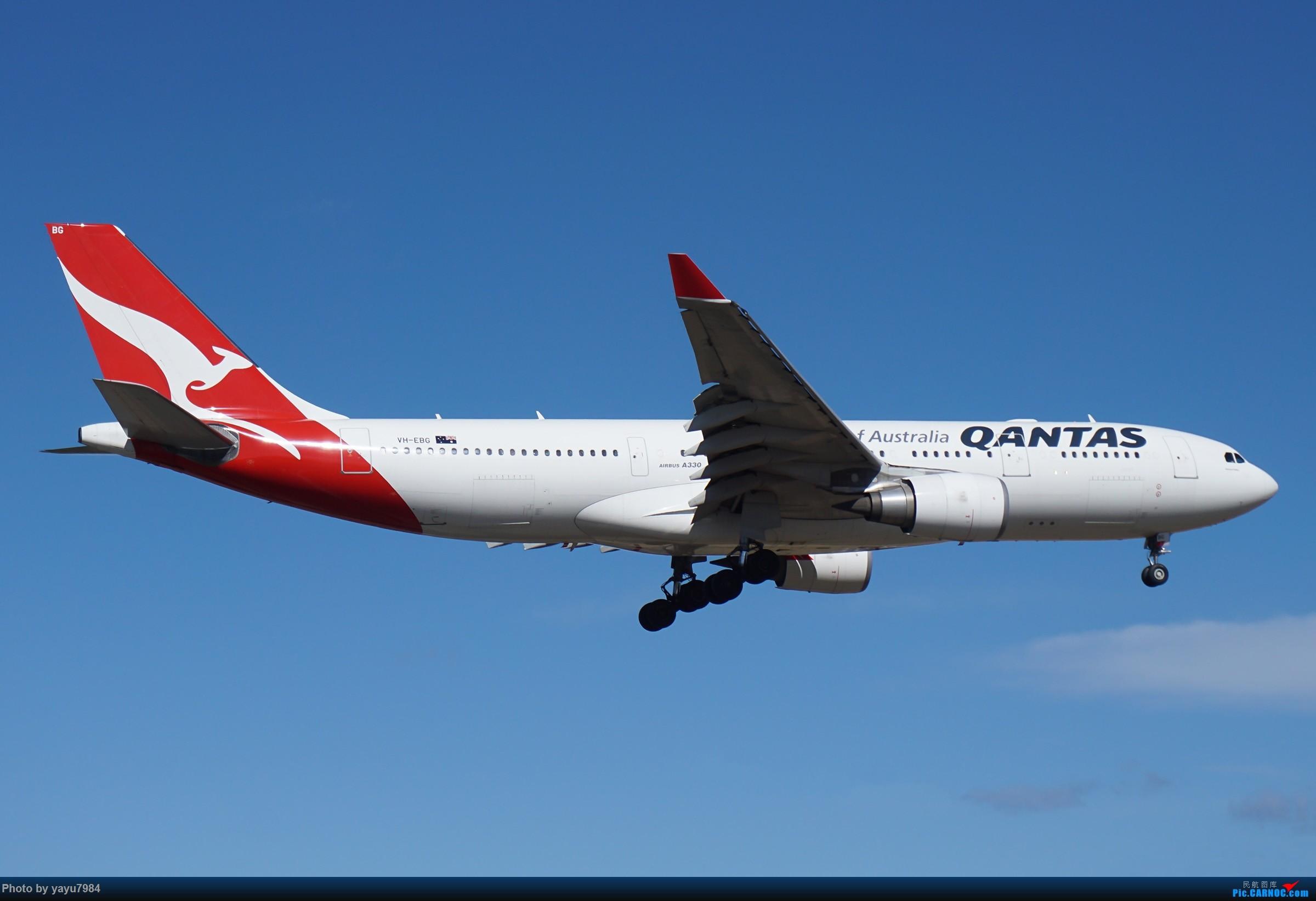 Re:[原创][SYD] 25跑道头打卡,有幸收集到4架MU的A332 AIRBUS A330-200 VH-EBG 澳大利亚悉尼金斯福德·史密斯机场
