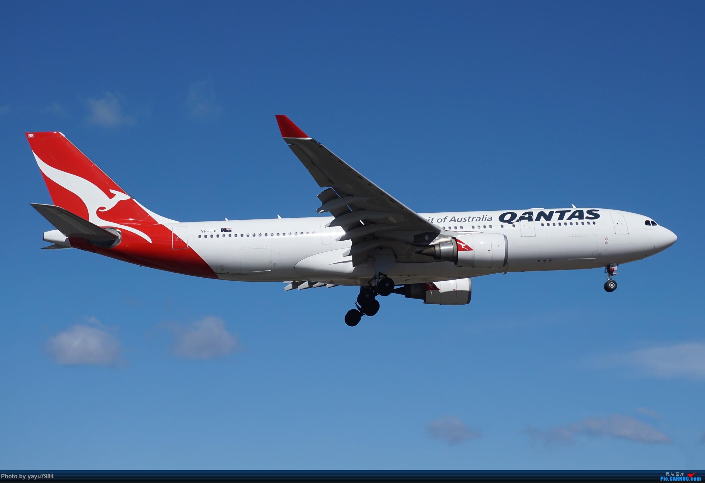 Re:[原创][SYD] 25跑道头打卡,有幸收集到4架MU的A332 AIRBUS A330-200 VH-EBE 澳大利亚悉尼金斯福德·史密斯机场