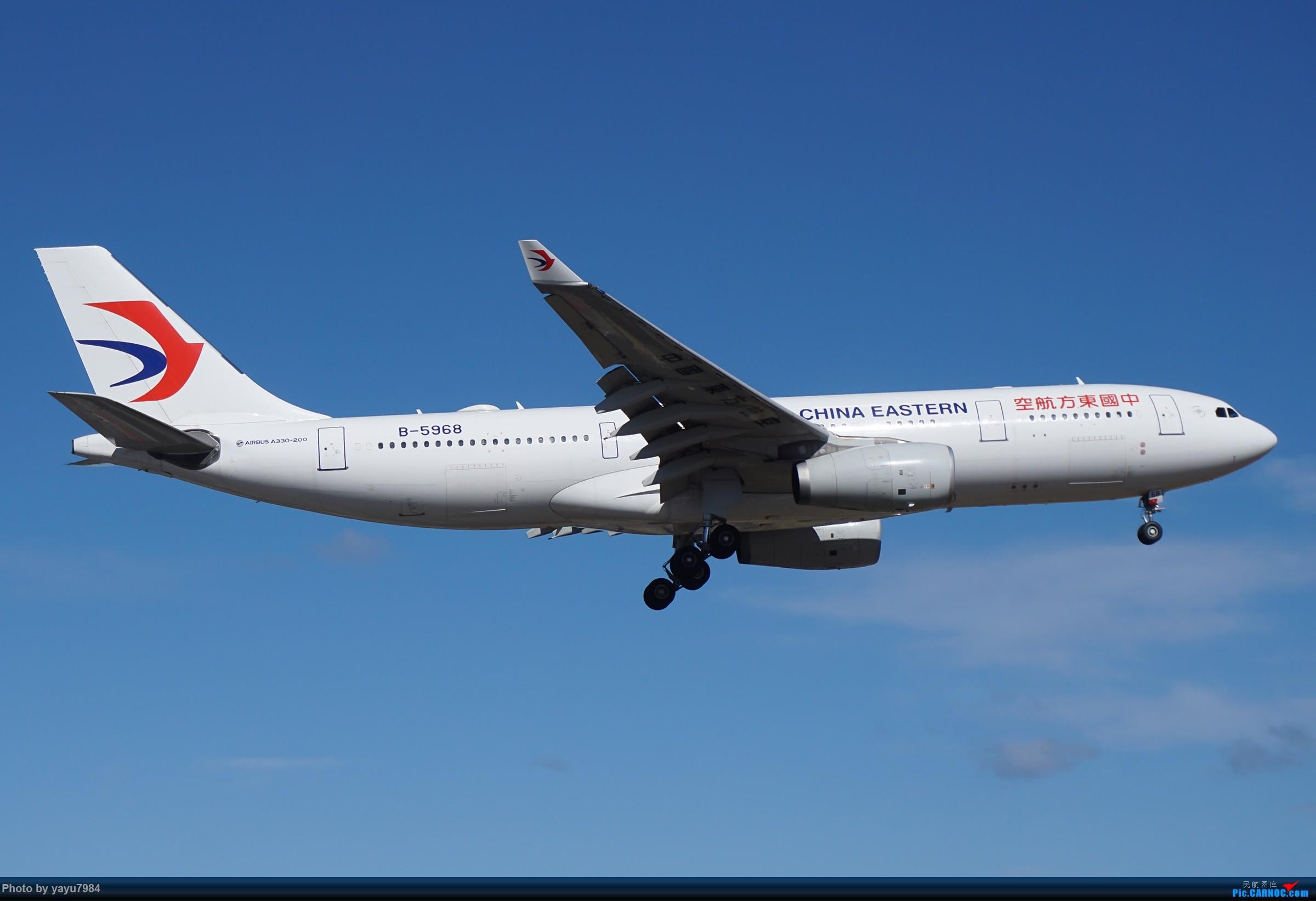 Re:[原创][SYD] 25跑道头打卡,有幸收集到4架MU的A332 AIRBUS A330-200 B-5968 澳大利亚悉尼金斯福德·史密斯机场