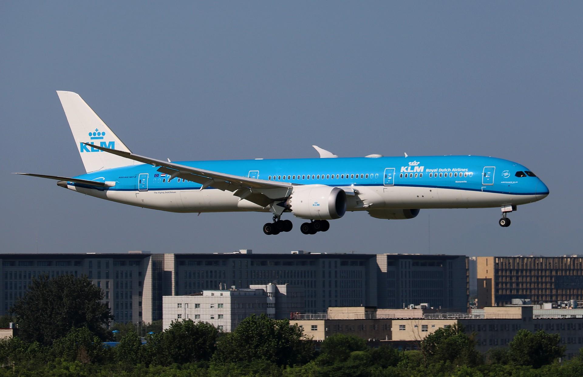 [原创]LIULIU|【PEK】36L降落一组Ⅱ|B家重型机 BOEING 787-9 PH-BHM 中国北京首都国际机场