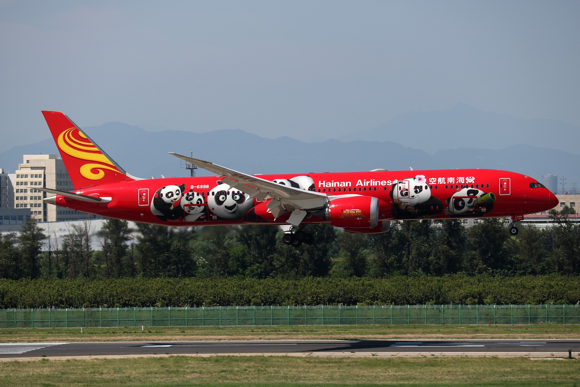 Re:[原创]LIULIU|【PEK】36L降落一组Ⅱ|B家重型机 BOEING 787-9 B-6998 中国北京首都国际机场