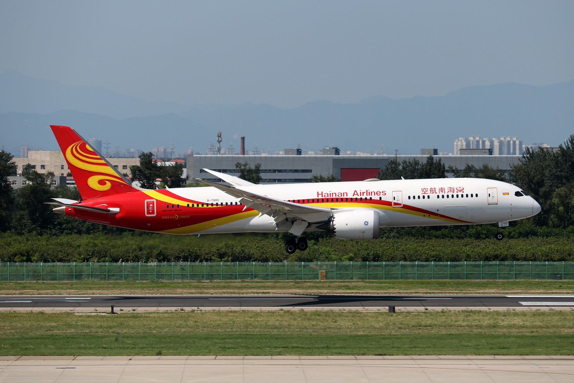 Re:[原创]LIULIU|【PEK】36L降落一组Ⅱ|B家重型机 BOEING 787-9 B-7880 中国北京首都国际机场
