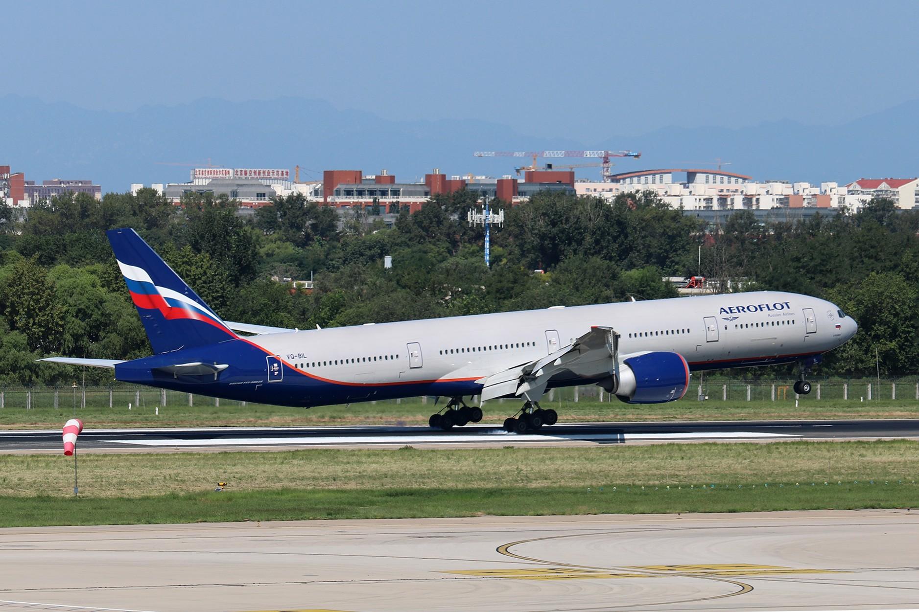 Re:[原创]LIULIU|【PEK】36L降落一组Ⅳ|擦烟 BOEING 777-300ER VQ-BIL 中国北京首都国际机场