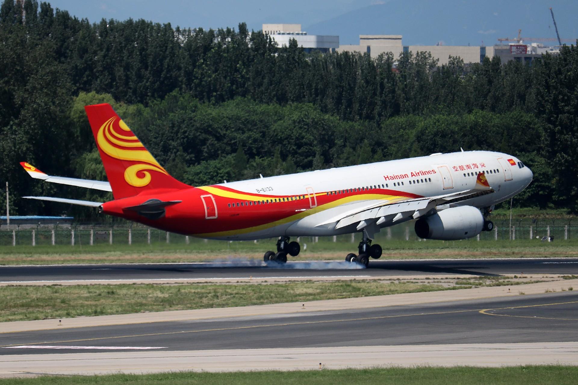 Re:[原创]LIULIU|【PEK】36L降落一组Ⅳ|擦烟 AIRBUS A330-200 B-6133 中国北京首都国际机场