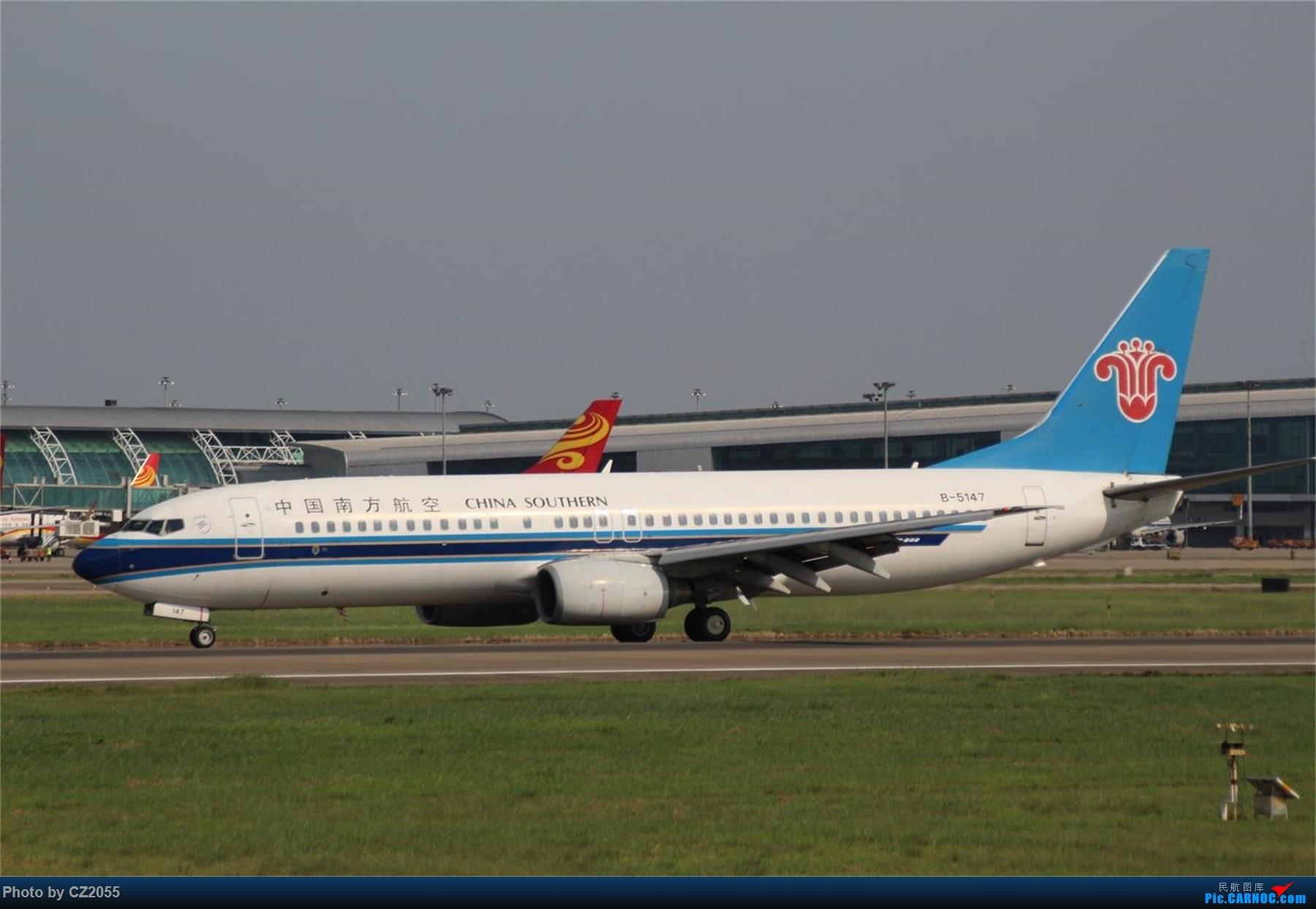 Re:[原创][原创]【CZ2055】【CAN】新镜头试镜。 BOEING 737-800 B-5147 中国广州白云国际机场
