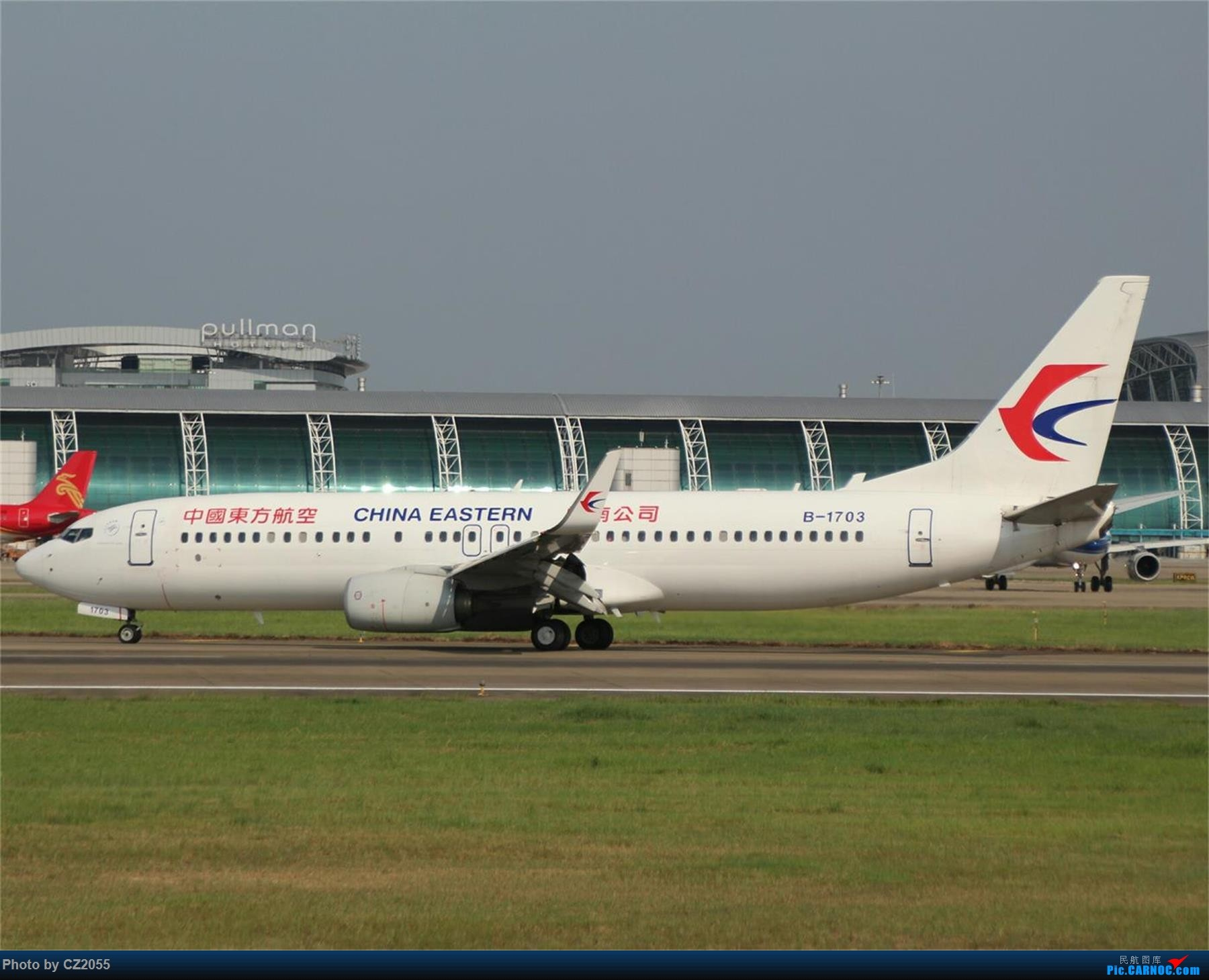 Re:[原创][原创]【CZ2055】【CAN】新镜头试镜。 BOEING 737-800 B-1703 中国广州白云国际机场