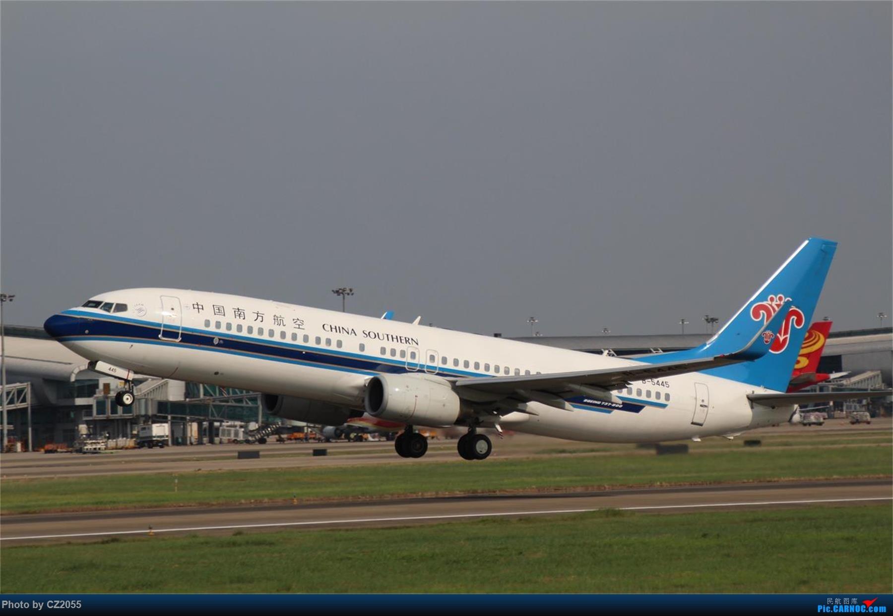 Re:[原创][原创]【CZ2055】【CAN】新镜头试镜。 BOEING 737-800 B-5445 中国广州白云国际机场