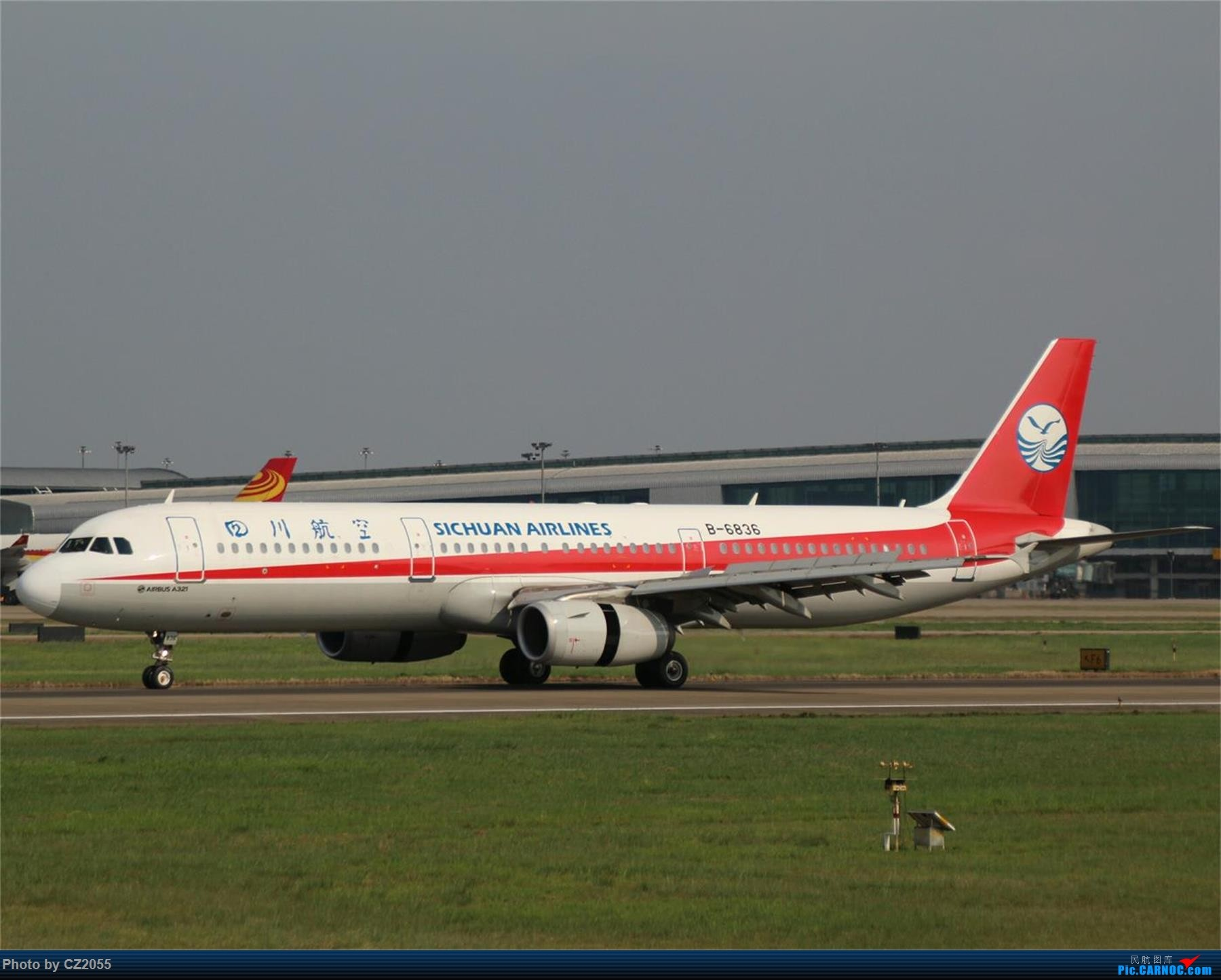 Re:[原创][原创]【CZ2055】【CAN】新镜头试镜。 AIRBUS A321-200 B-6836 中国广州白云国际机场