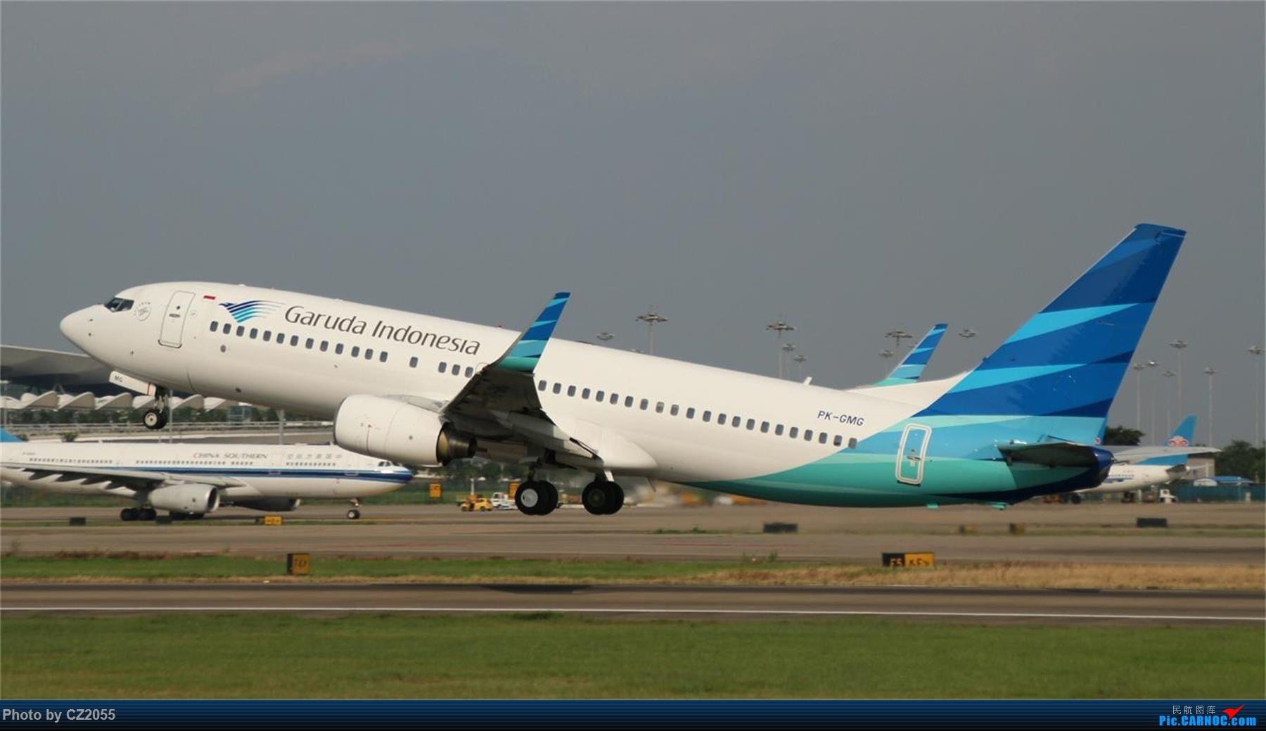 Re:[原创][原创]【CZ2055】【CAN】新镜头试镜。 BOEING 737-800 PK-GMG 中国广州白云国际机场