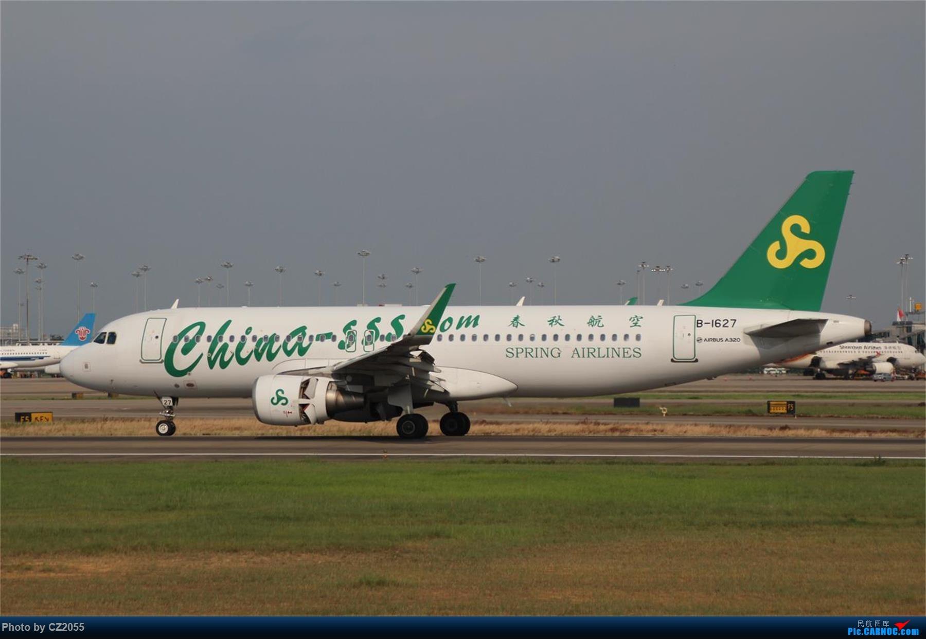 Re:[原创][原创]【CZ2055】【CAN】新镜头试镜。 AIRBUS A320-200 B-1627 中国广州