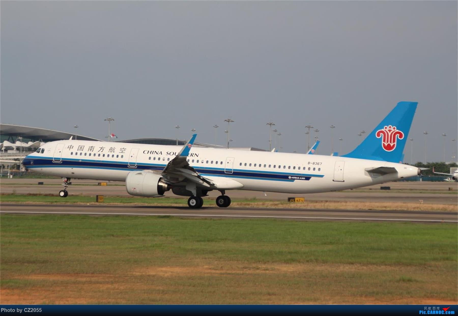 Re:[原创][原创]【CZ2055】【CAN】新镜头试镜。 AIRBUS A321NEO B-8367 中国广州白云国际机场