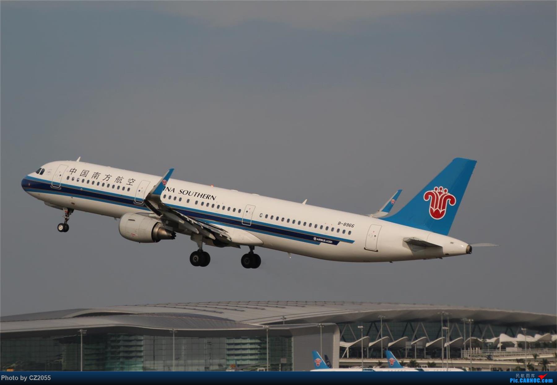 Re:[原创][原创]【CZ2055】【CAN】新镜头试镜。 AIRBUS A321-200 B-8966 中国广州白云国际机场
