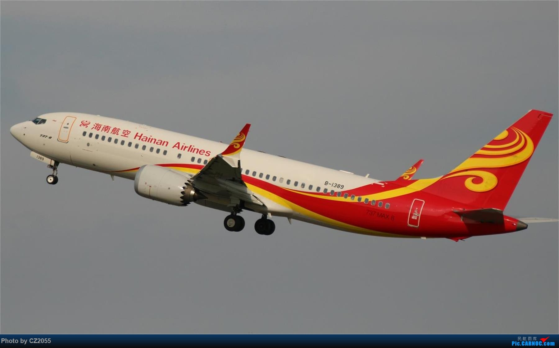 Re:[原创][原创]【CZ2055】【CAN】新镜头试镜。 BOEING 737MAX-8 B-1389 中国广州白云国际机场