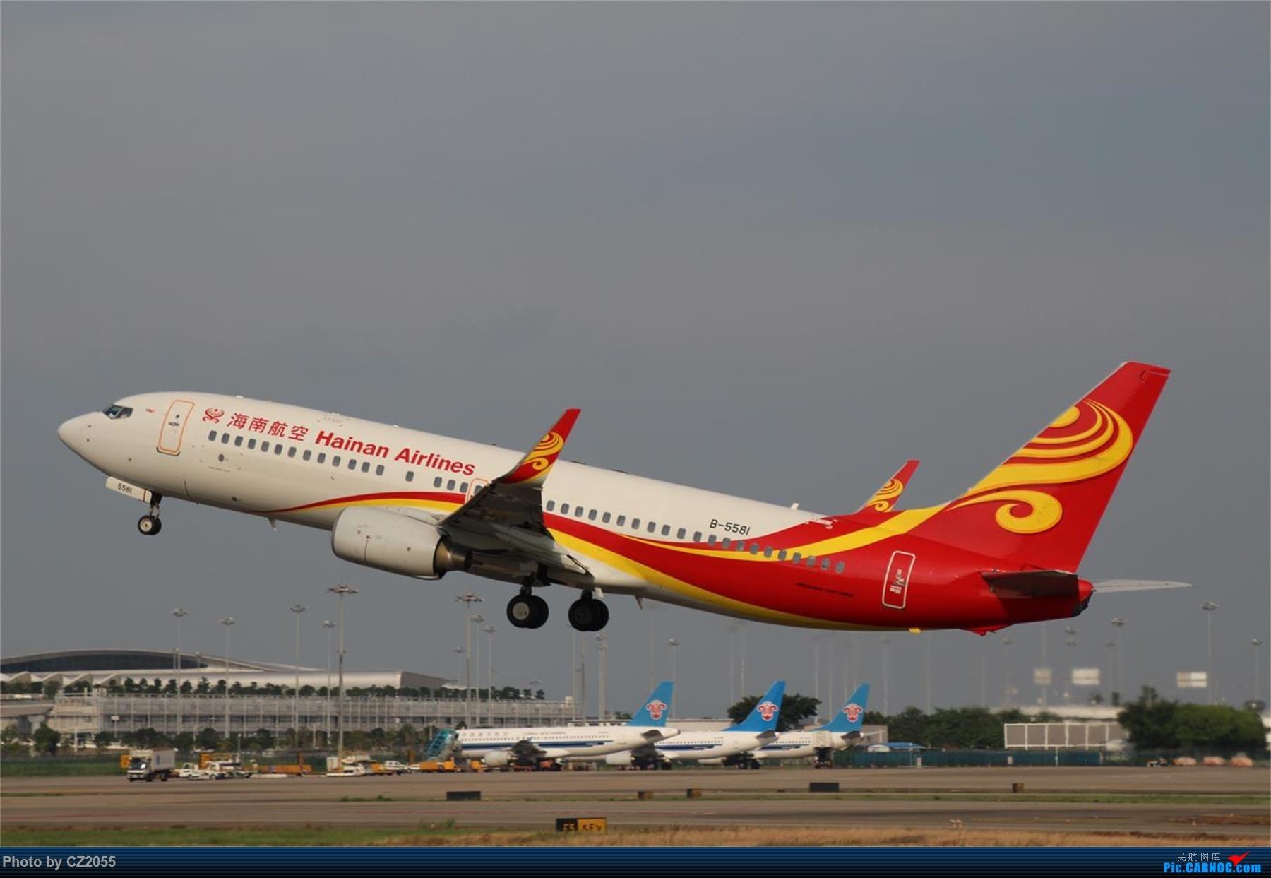 Re:[原创][原创]【CZ2055】【CAN】新镜头试镜。 BOEING 737-800 B-5581 中国广州白云国际机场
