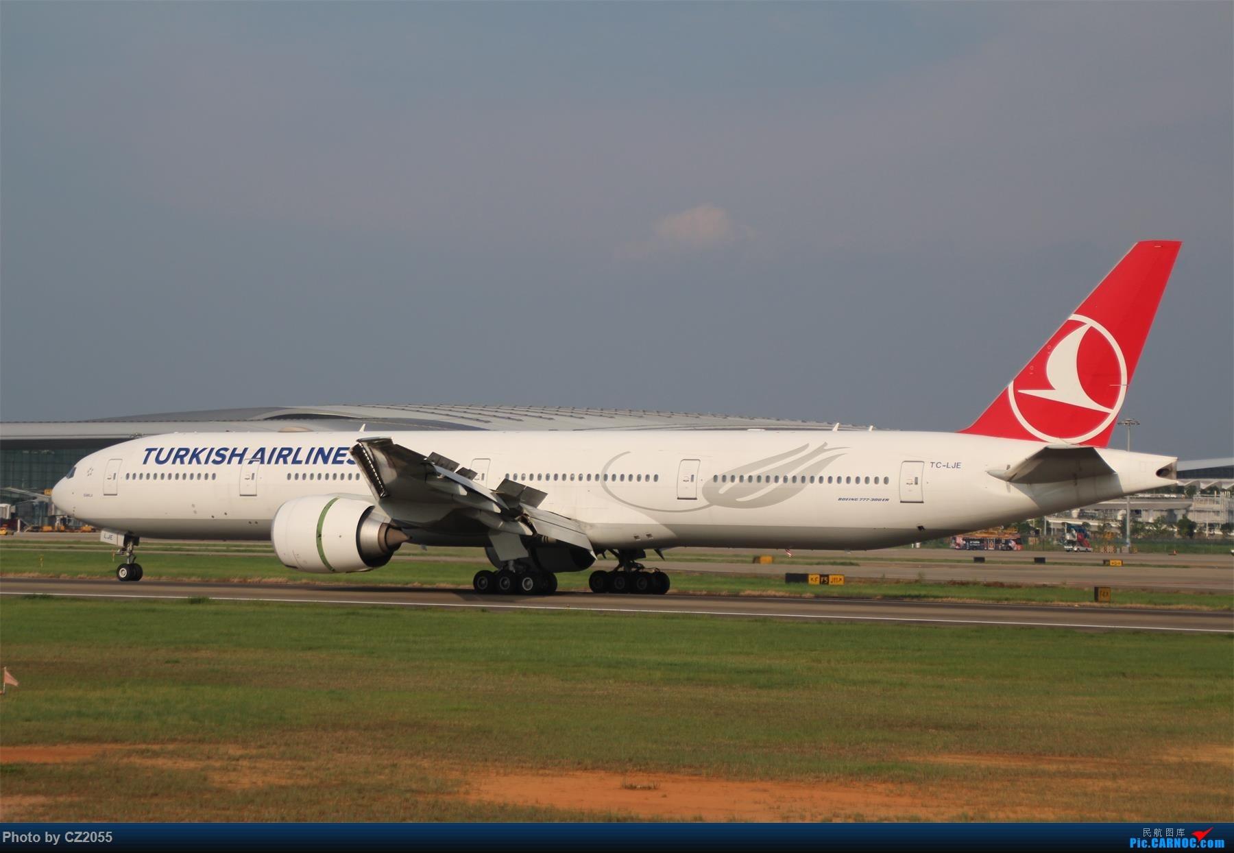 Re:[原创][原创]【CZ2055】【CAN】新镜头试镜。 BOEING 777-300ER TC-LJE 中国广州白云国际机场