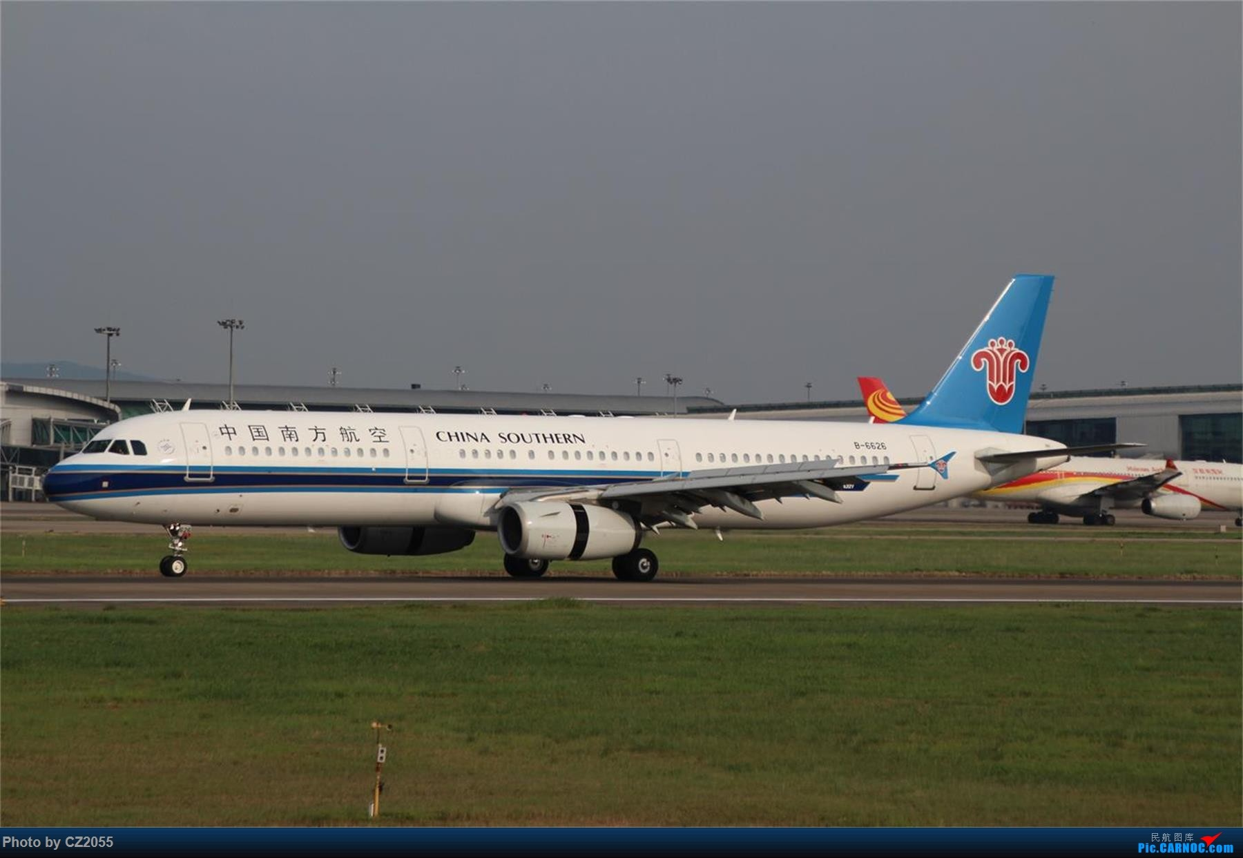 Re:[原创][原创]【CZ2055】【CAN】新镜头试镜。 AIRBUS A321-200 B-6626 中国广州白云国际机场