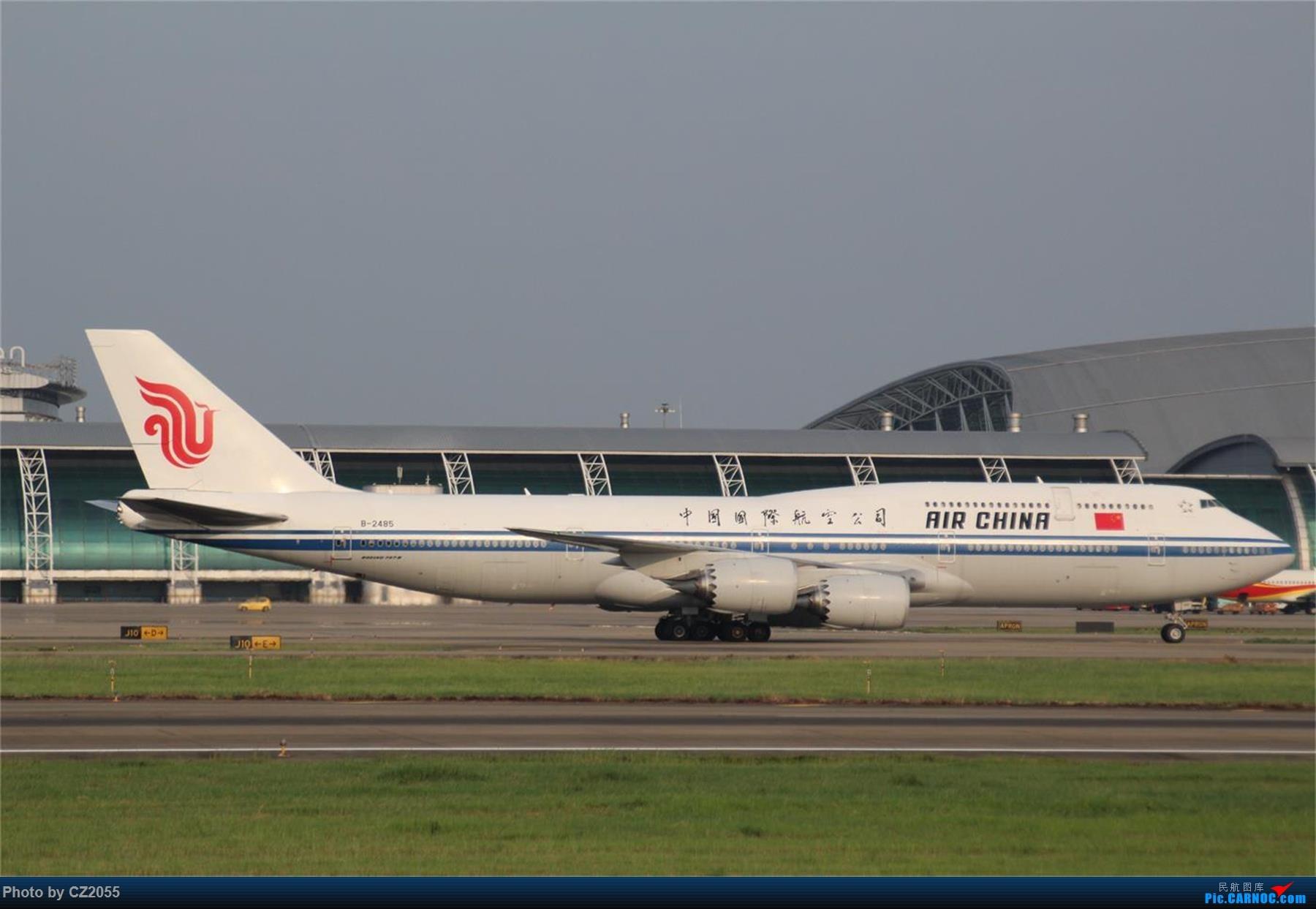 Re:[原创][原创]【CZ2055】【CAN】新镜头试镜。 BOEING 747-8I B-2485 中国广州白云国际机场