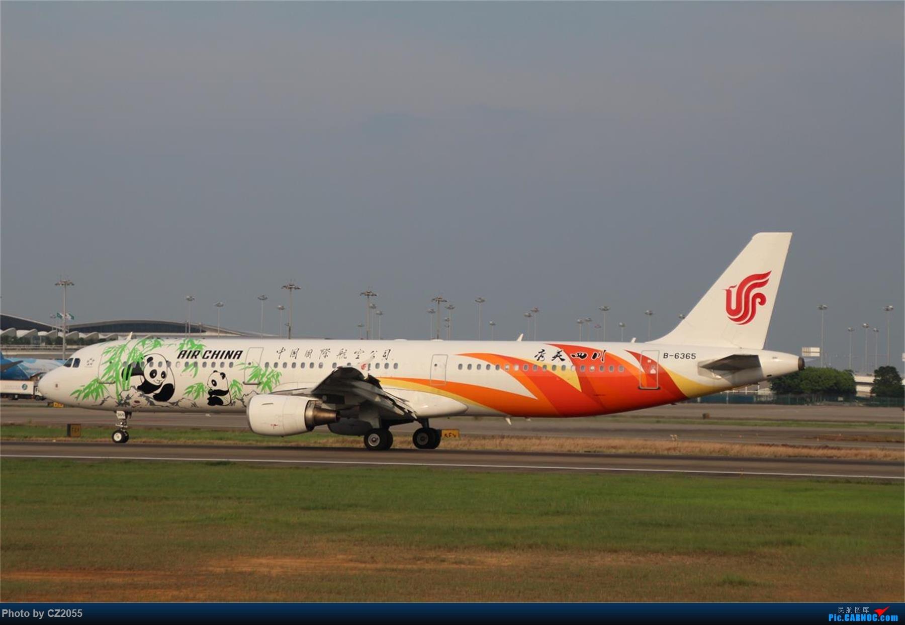 Re:[原创][原创]【CZ2055】【CAN】新镜头试镜。 AIRBUS A321-200 B-6365 中国广州白云国际机场