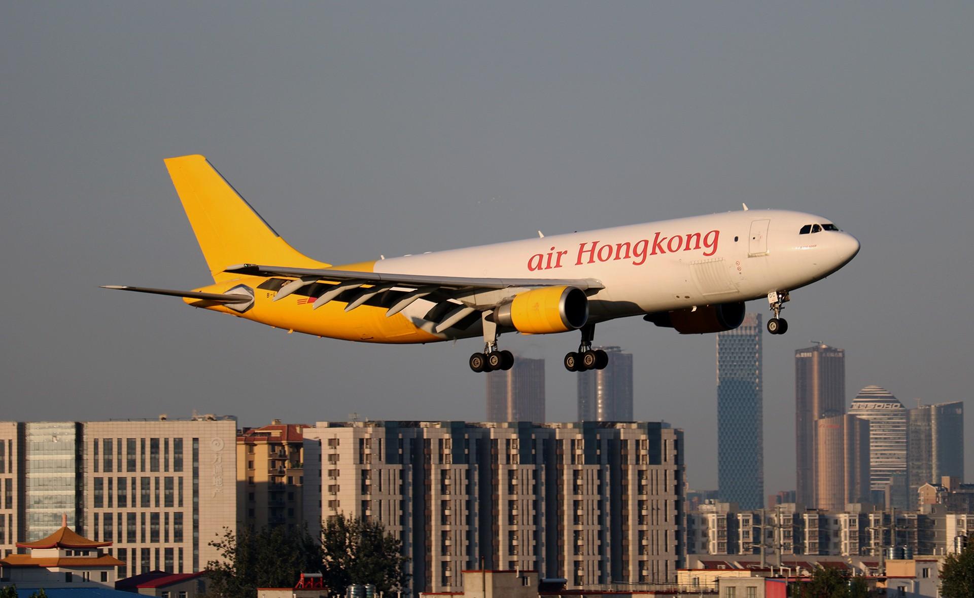[原创]LIULIU|【PEK】36L降落一组Ⅴ|城市背景下的进近 AIRBUS A300F4-600R B-LDC 中国北京首都国际机场