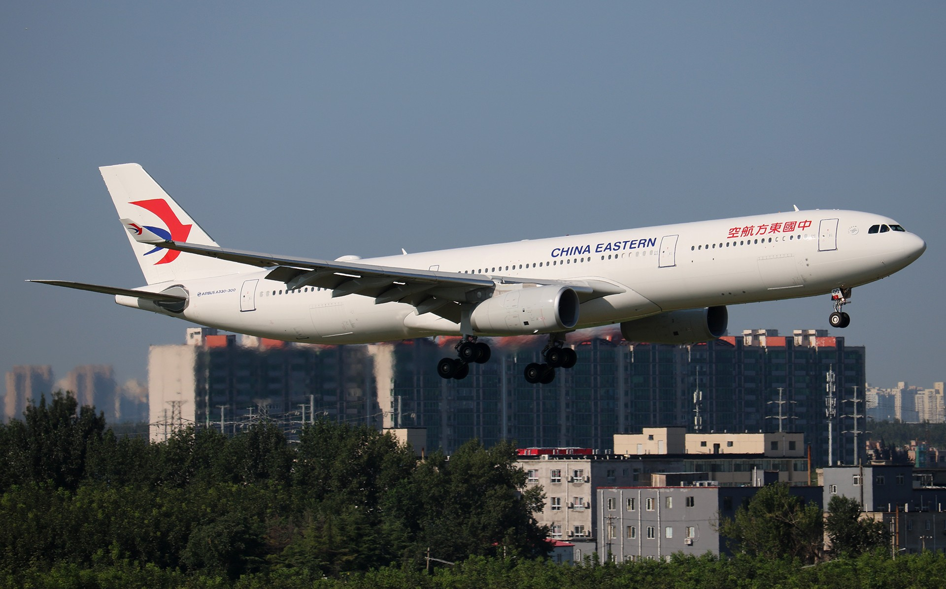 Re:[原创]LIULIU|【PEK】36L降落一组Ⅴ|城市背景下的进近 AIRBUS A330-300 B-300Q 中国北京首都国际机场