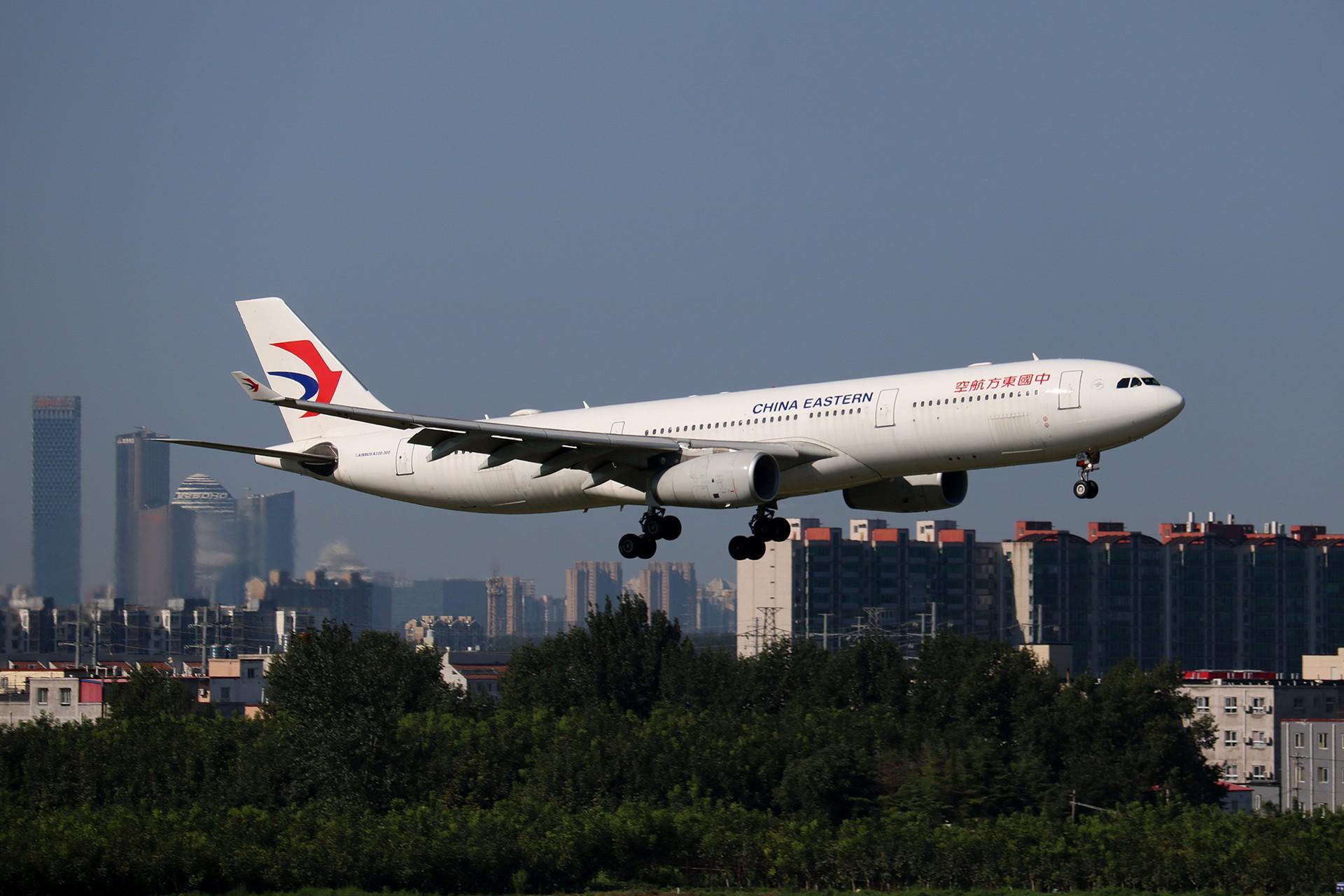Re:[原创]LIULIU|【PEK】36L降落一组Ⅴ|城市背景下的进近 AIRBUS A330-300 B-6506 中国北京首都国际机场
