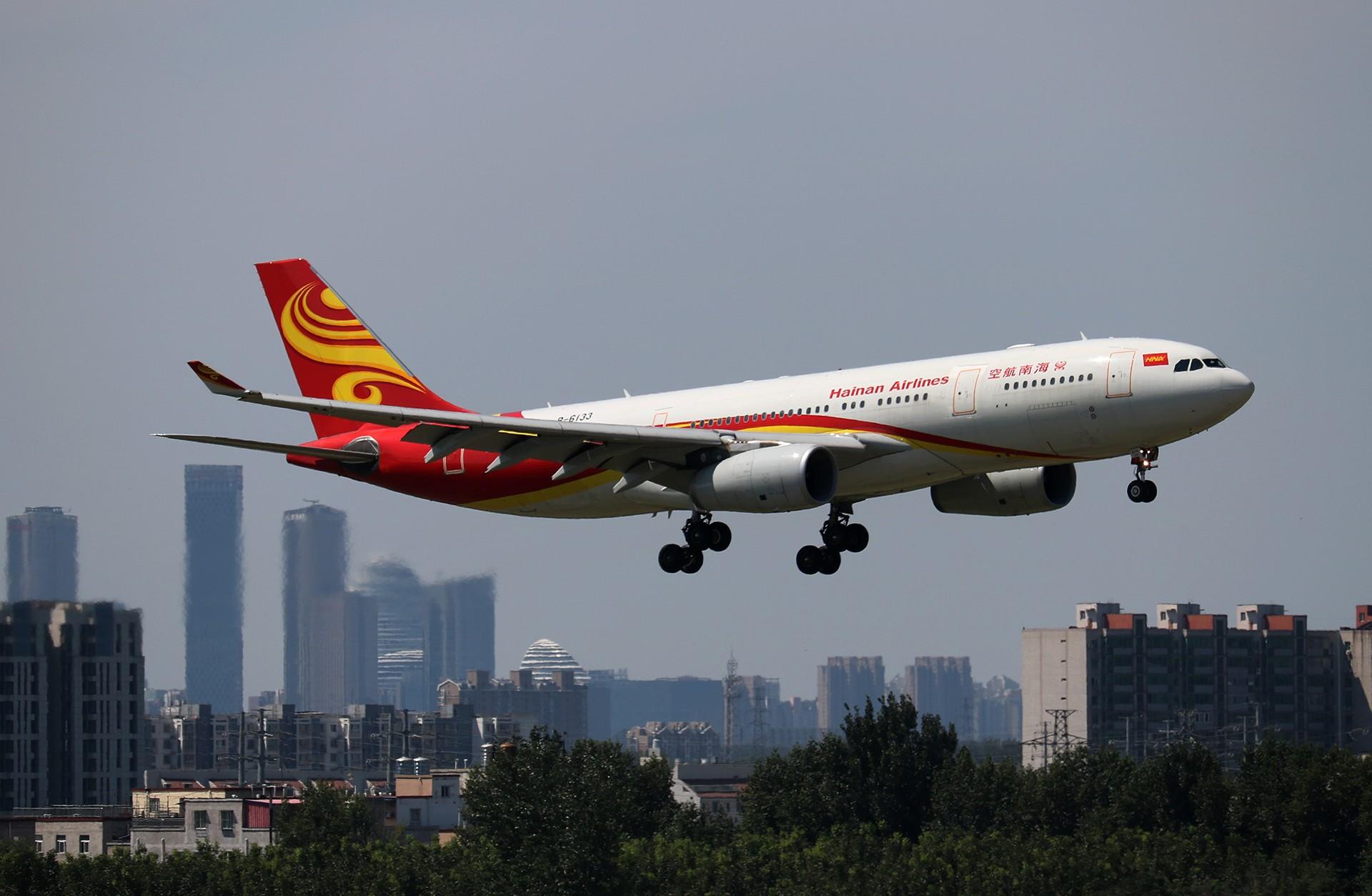 Re:[原创]LIULIU|【PEK】36L降落一组Ⅴ|城市背景下的进近 AIRBUS A330-200 B-6133 中国北京首都国际机场