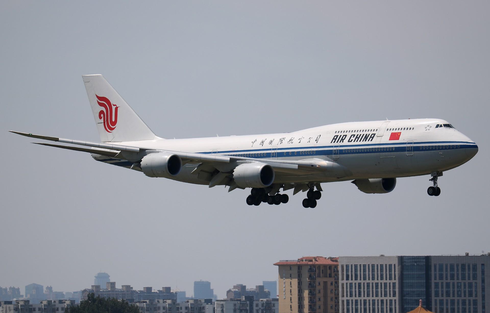 Re:[原创]LIULIU|【PEK】36L降落一组Ⅴ|城市背景下的进近 BOEING 747-8I B-2481 中国北京首都国际机场