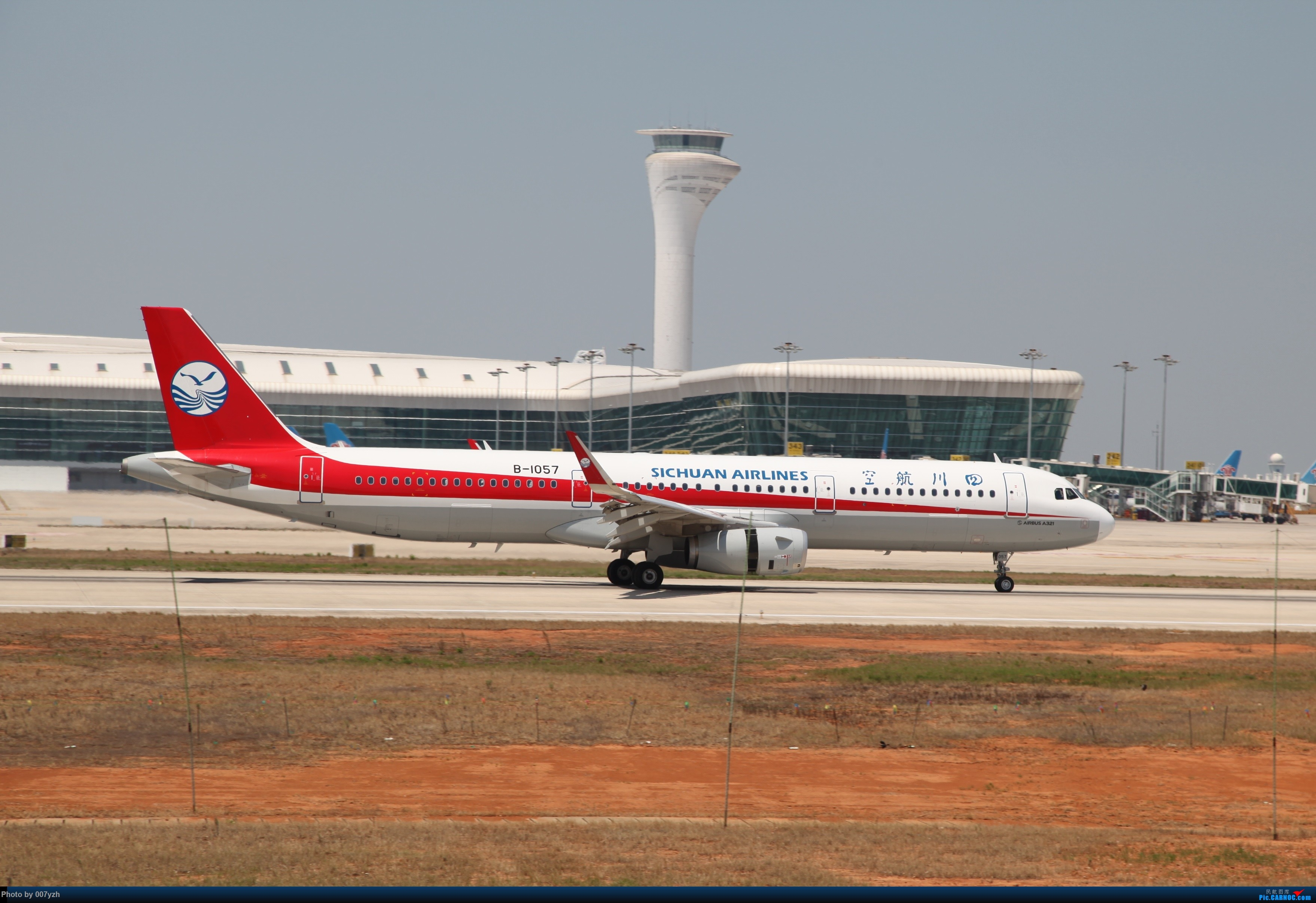 Re:[原创]奔着南航789来的武汉04R跑道拍机 AIRBUS A321-200 B-1057 中国武汉天河国际机场