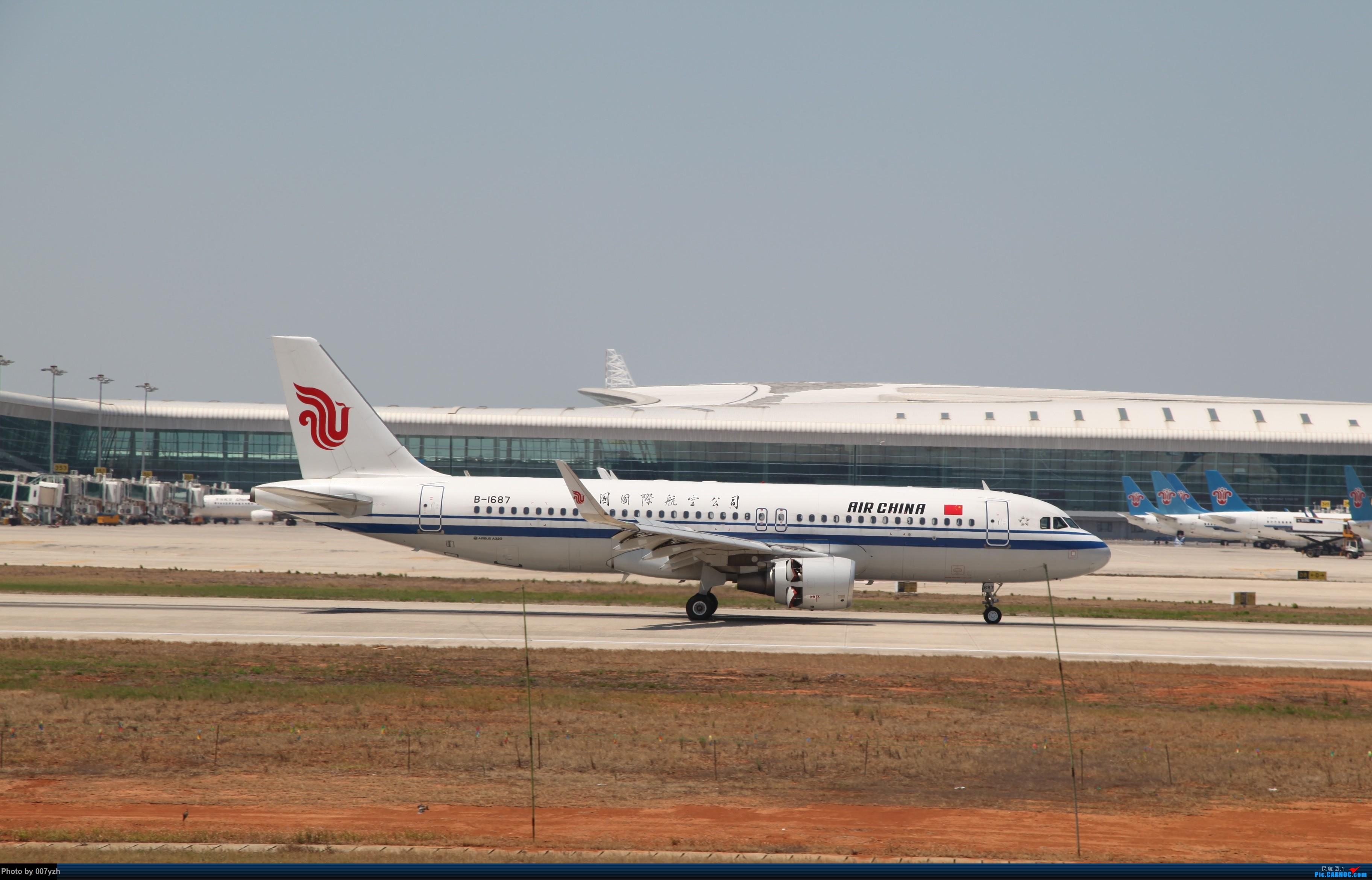 Re:[原创]奔着南航789来的武汉04R跑道拍机 AIRBUS A320-200 B-1687 中国武汉天河国际机场