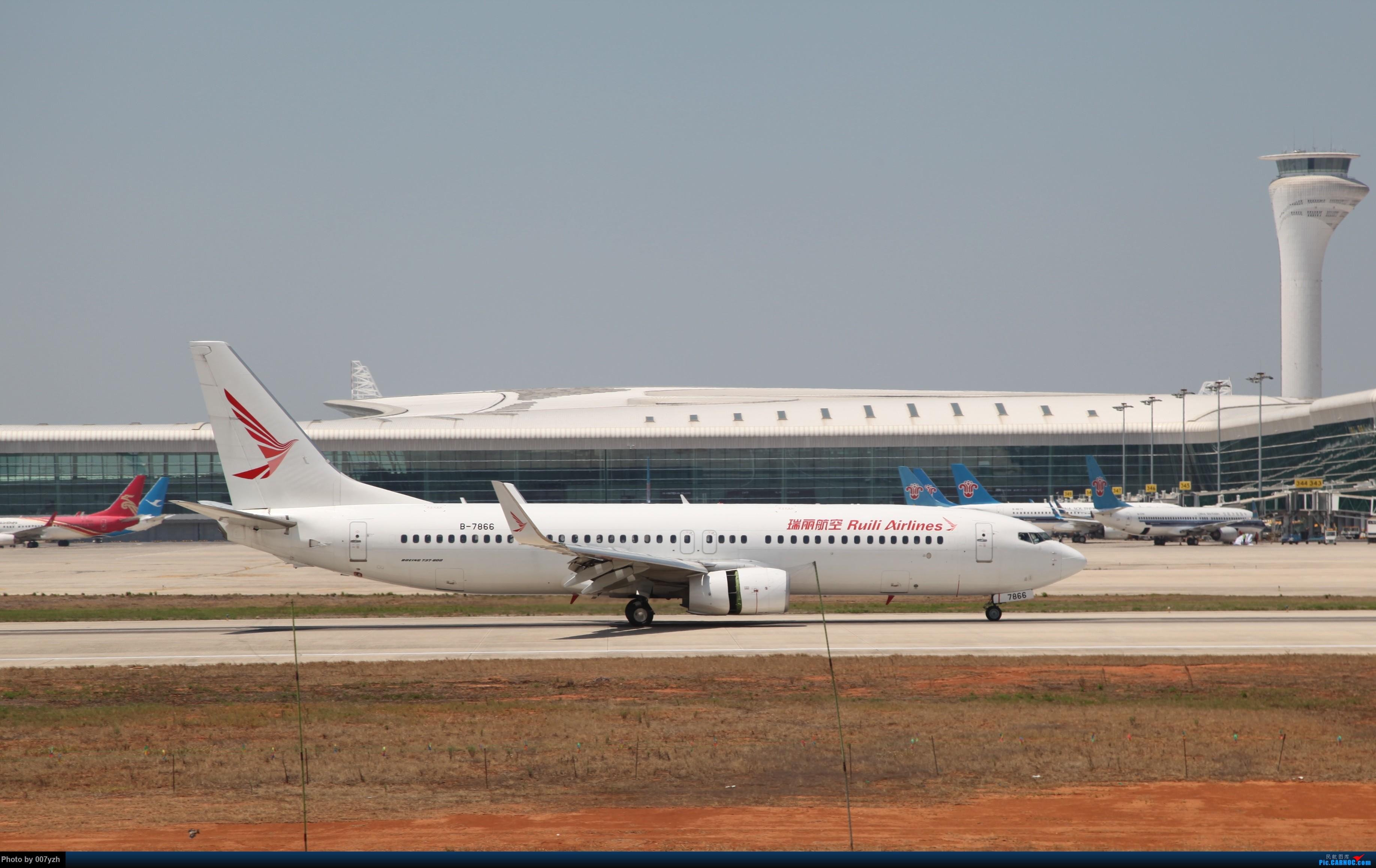 Re:[原创]奔着南航789来的武汉04R跑道拍机 BOEING 737-800 B-7866 中国武汉天河国际机场