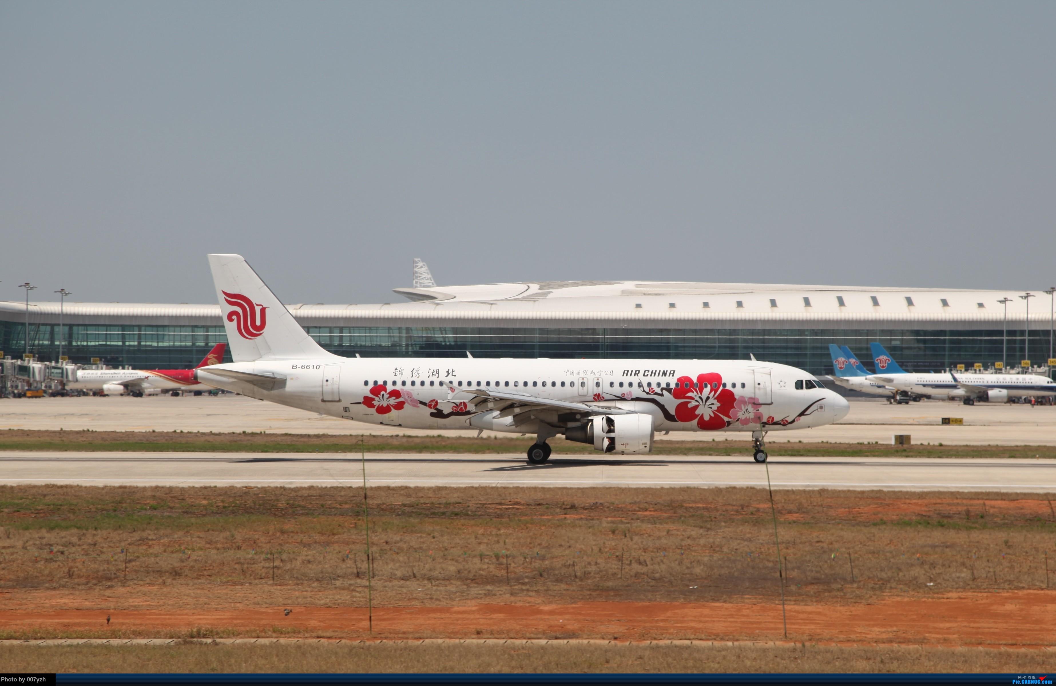 Re:[原创]奔着南航789来的武汉04R跑道拍机 AIRBUS A320-200 B-6610 中国武汉天河国际机场