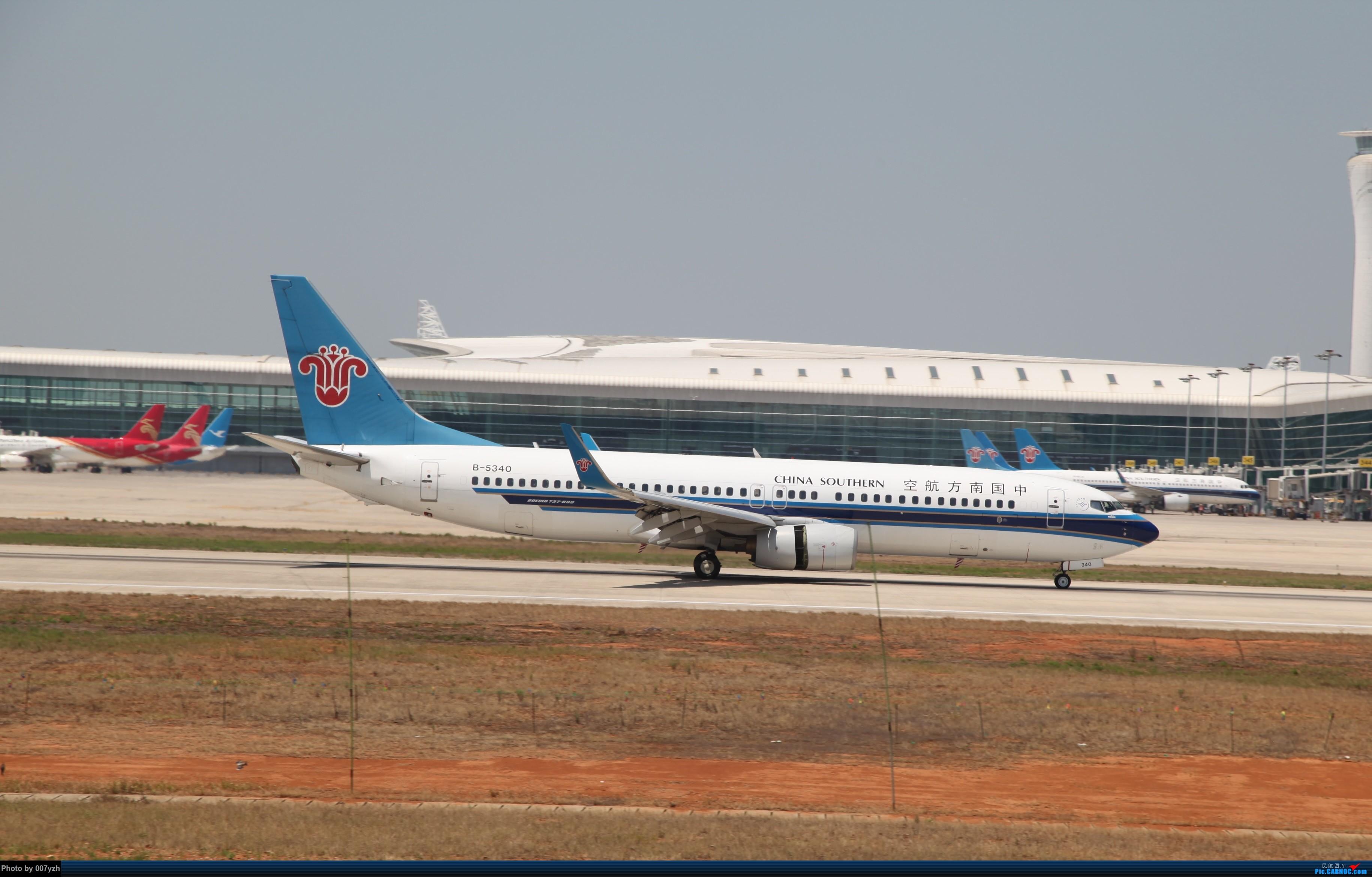 Re:[原创]奔着南航789来的武汉04R跑道拍机 BOEING 737-800 B-5340 中国武汉天河国际机场