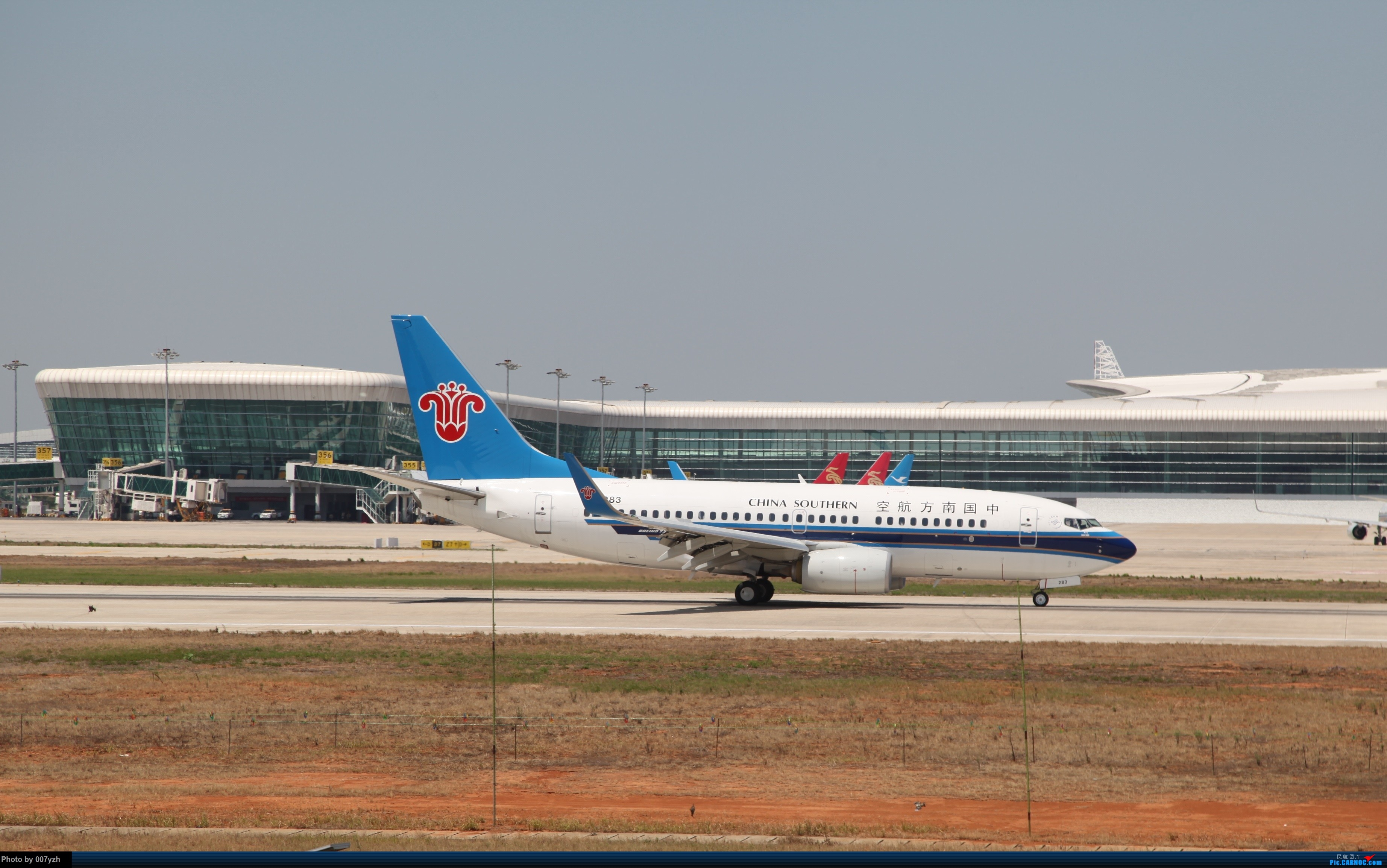 Re:[原创]奔着南航789来的武汉04R跑道拍机 BOEING 737-700 B-5283 中国武汉天河国际机场