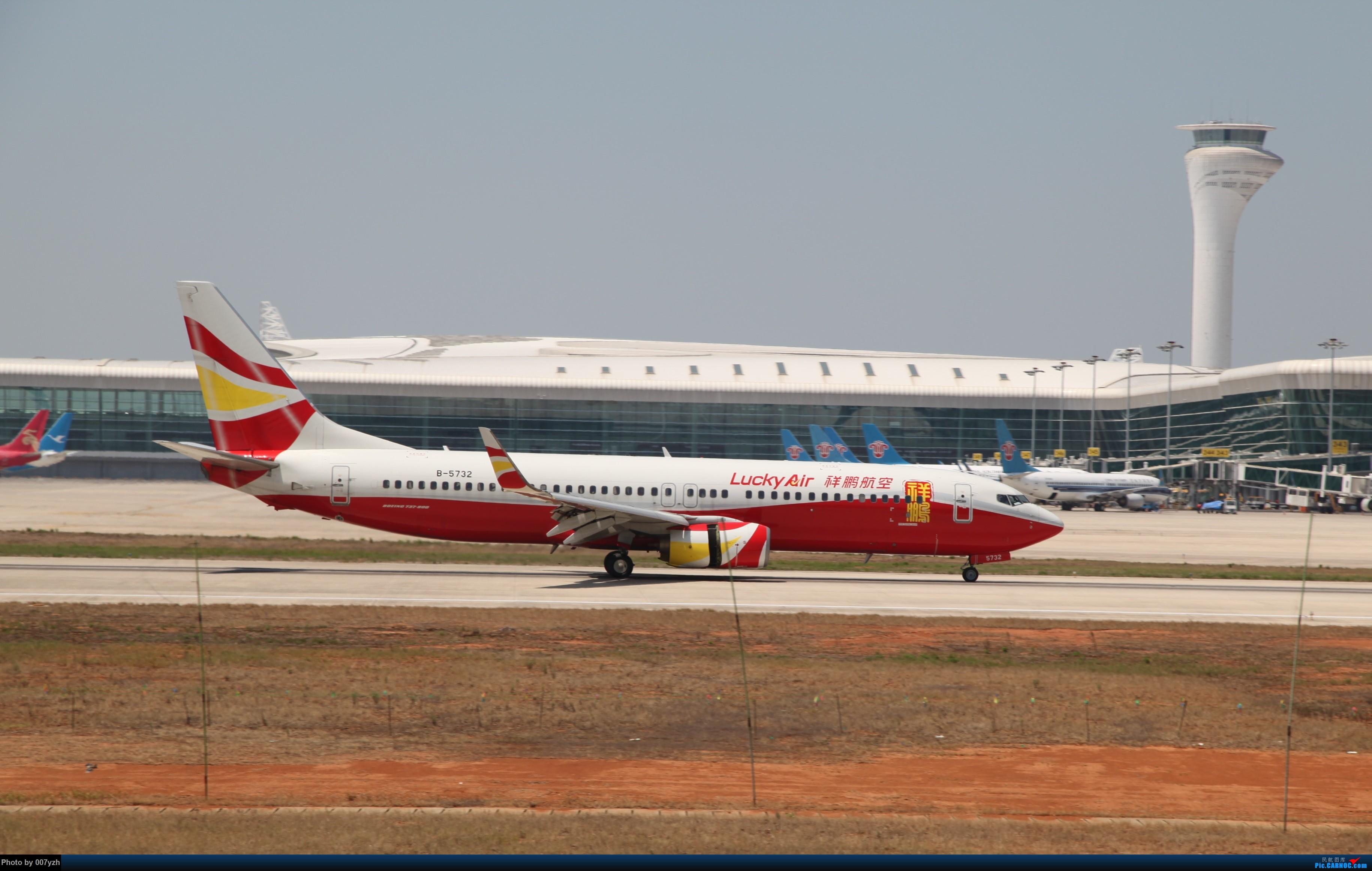 Re:[原创]奔着南航789来的武汉04R跑道拍机 BOEING 737-800 B-5732 中国武汉天河国际机场