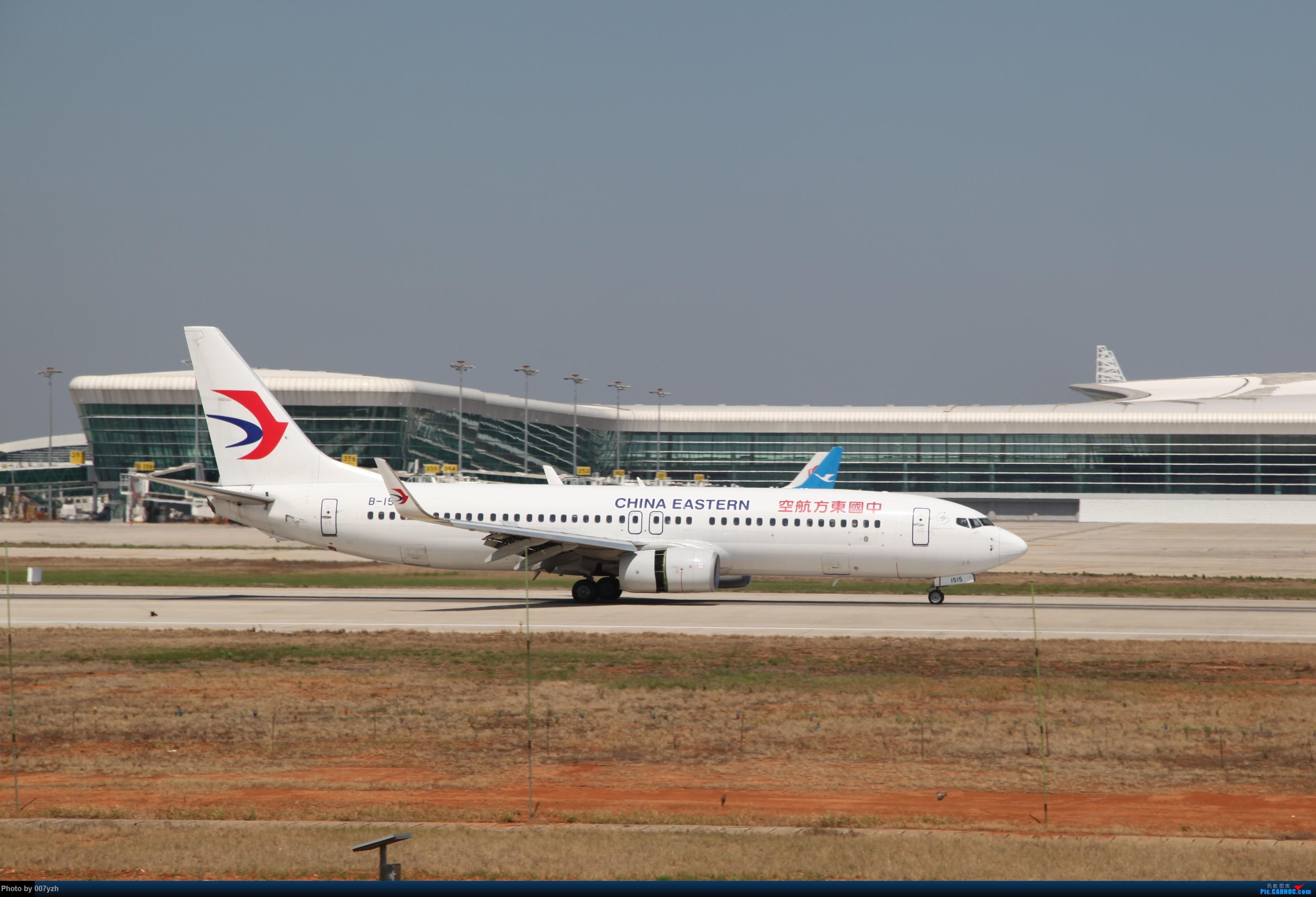 Re:[原创]奔着南航789来的武汉04R跑道拍机 BOEING 737-800 B-1515 中国武汉天河国际机场