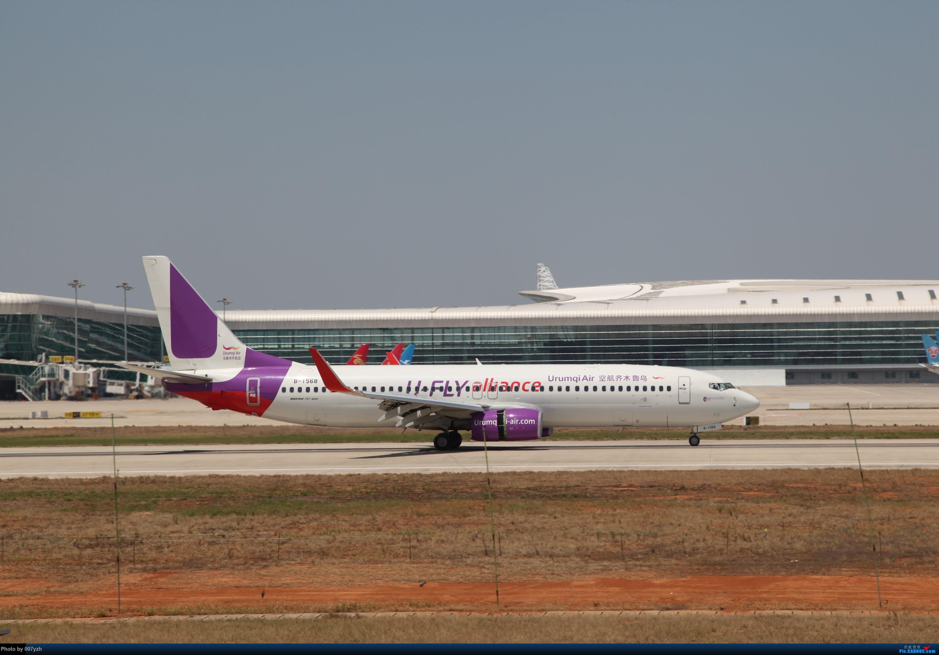 Re:[原创]奔着南航789来的武汉04R跑道拍机 BOEING 737-800 B-1568 中国武汉天河国际机场