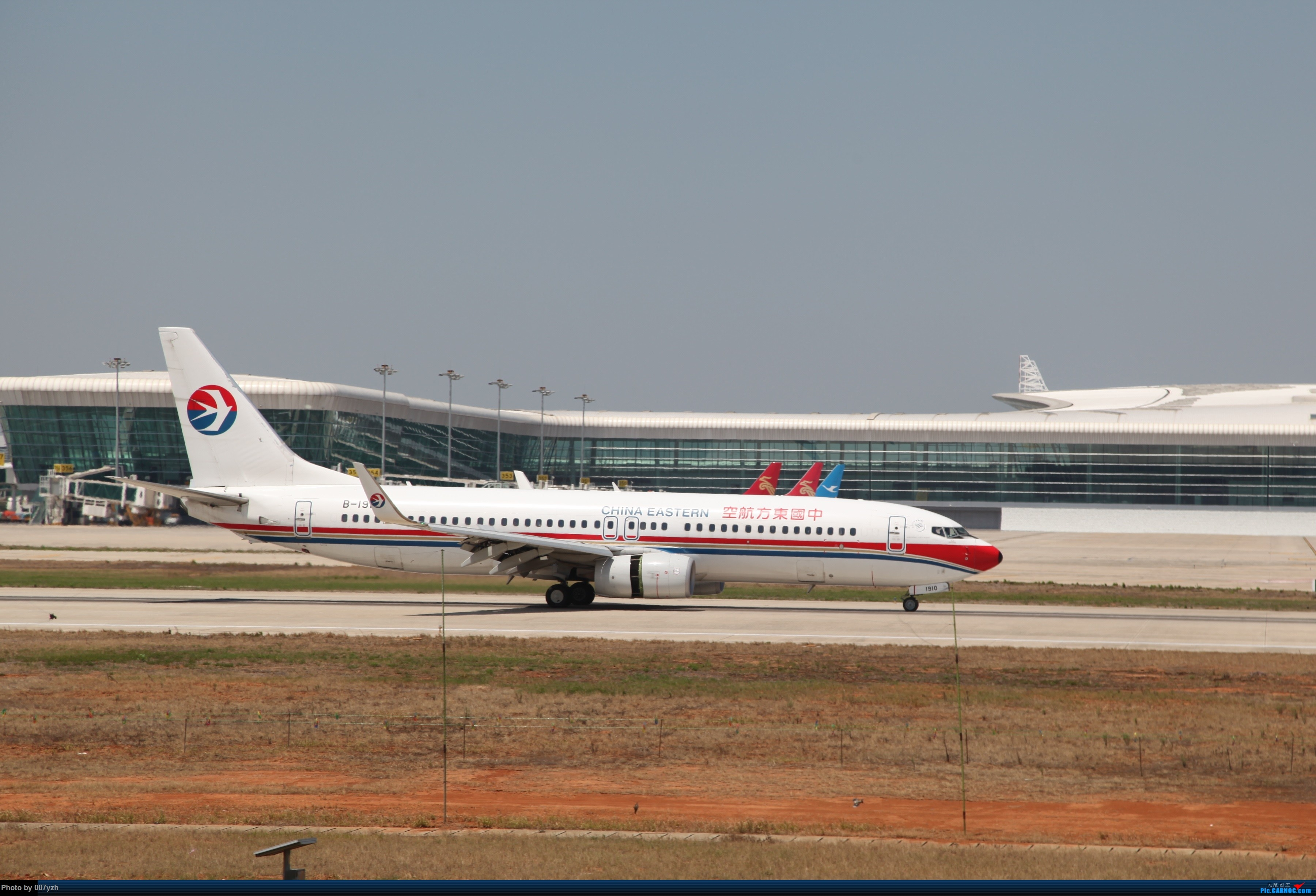 Re:[原创]奔着南航789来的武汉04R跑道拍机 BOEING 737-800 B-1910 中国武汉天河国际机场