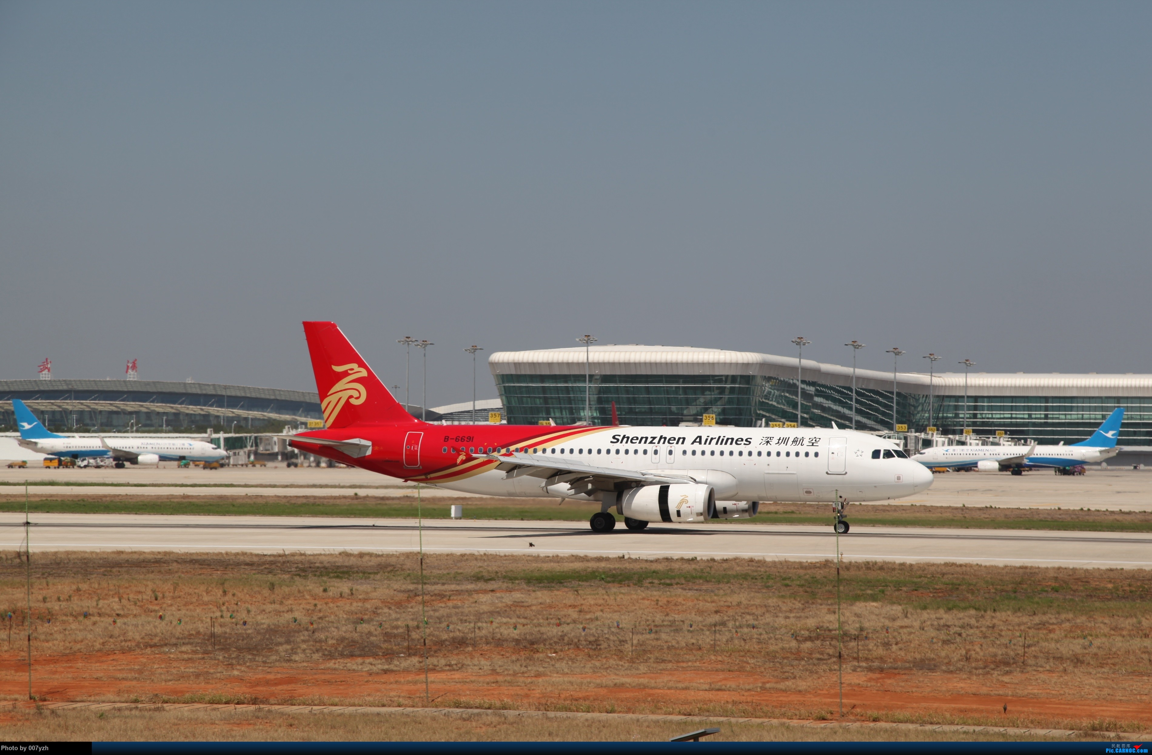 Re:[原创]奔着南航789来的武汉04R跑道拍机 AIRBUS A320-200 B-6691 中国武汉天河国际机场