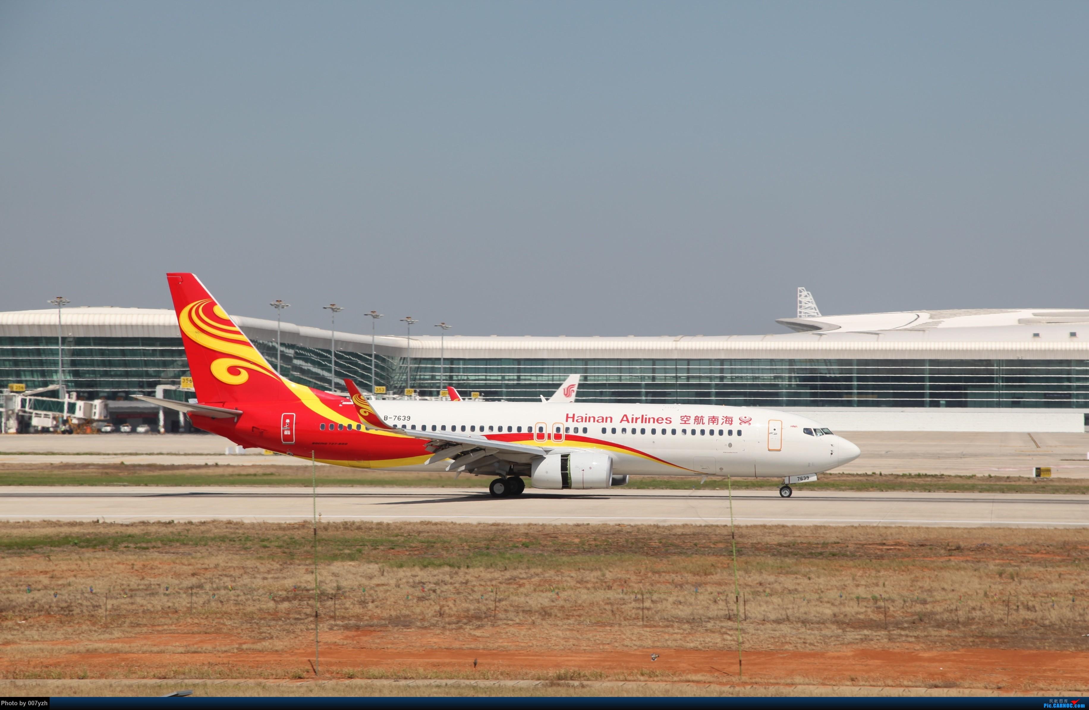 Re:[原创]奔着南航789来的武汉04R跑道拍机 BOEING 737-800 B-7639 中国武汉天河国际机场