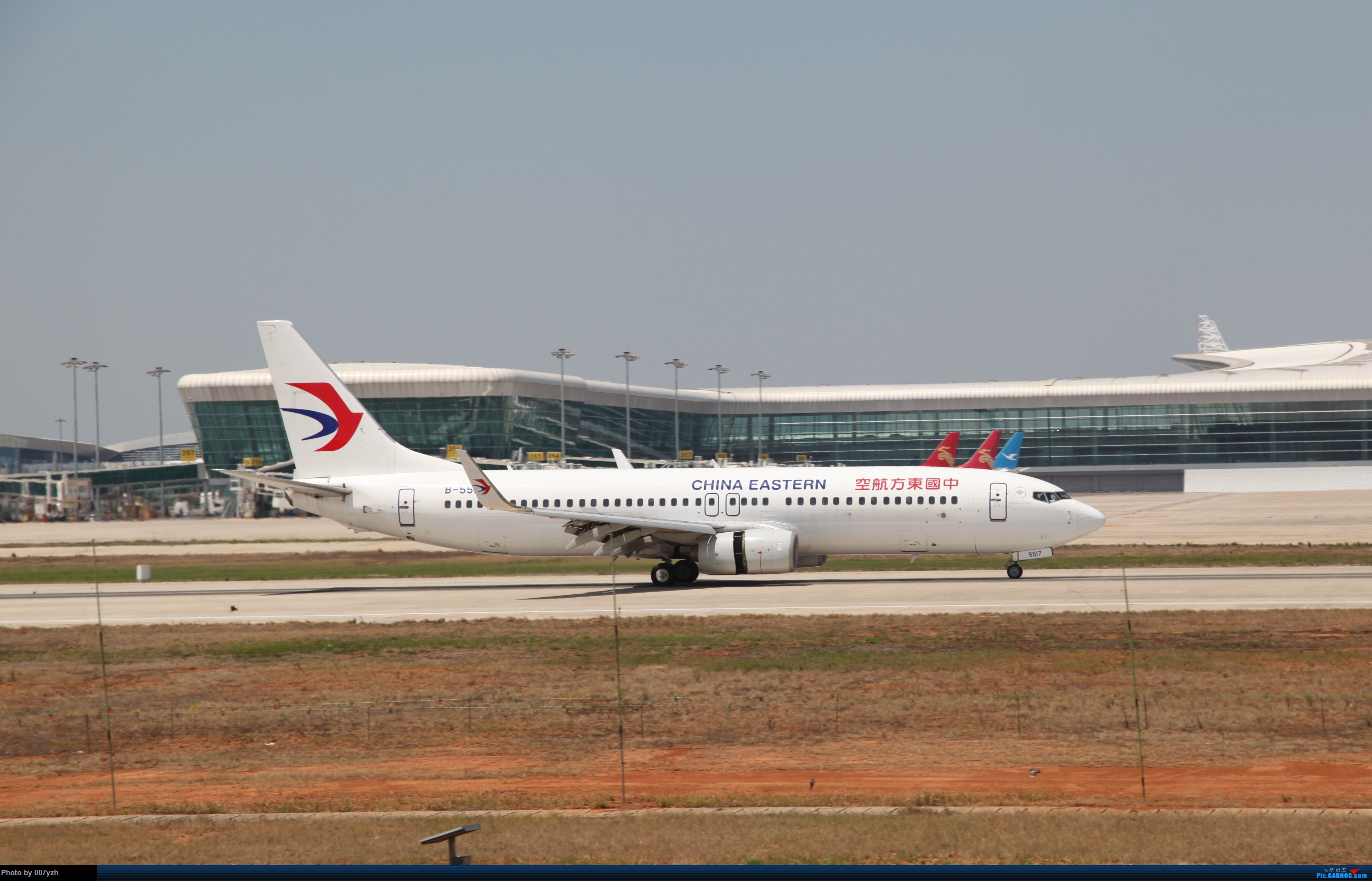 Re:[原创]奔着南航789来的武汉04R跑道拍机 BOEING 737-800 B-5517 中国武汉天河国际机场
