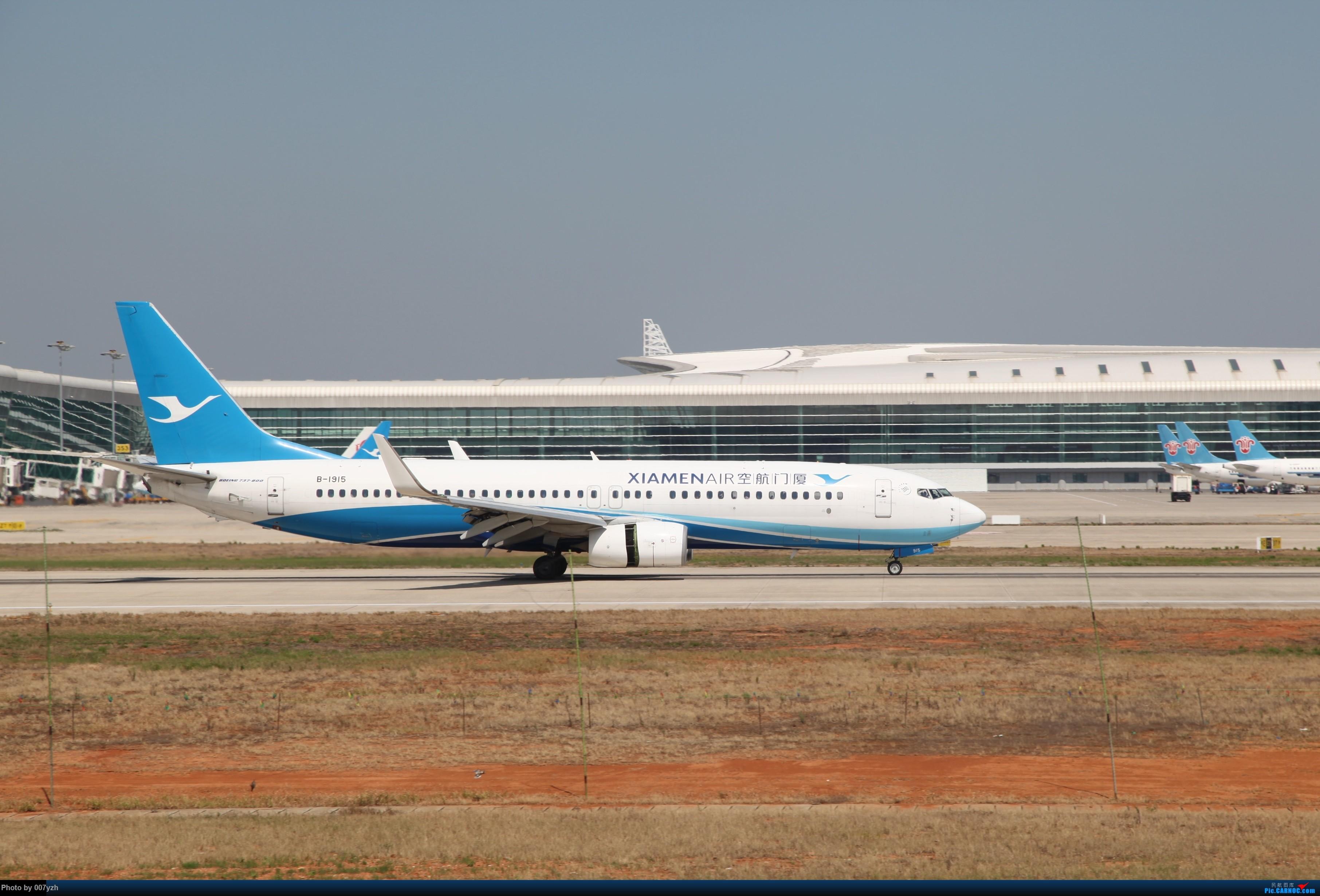 Re:[原创]奔着南航789来的武汉04R跑道拍机 BOEING 737-800 B-1915 中国武汉天河国际机场