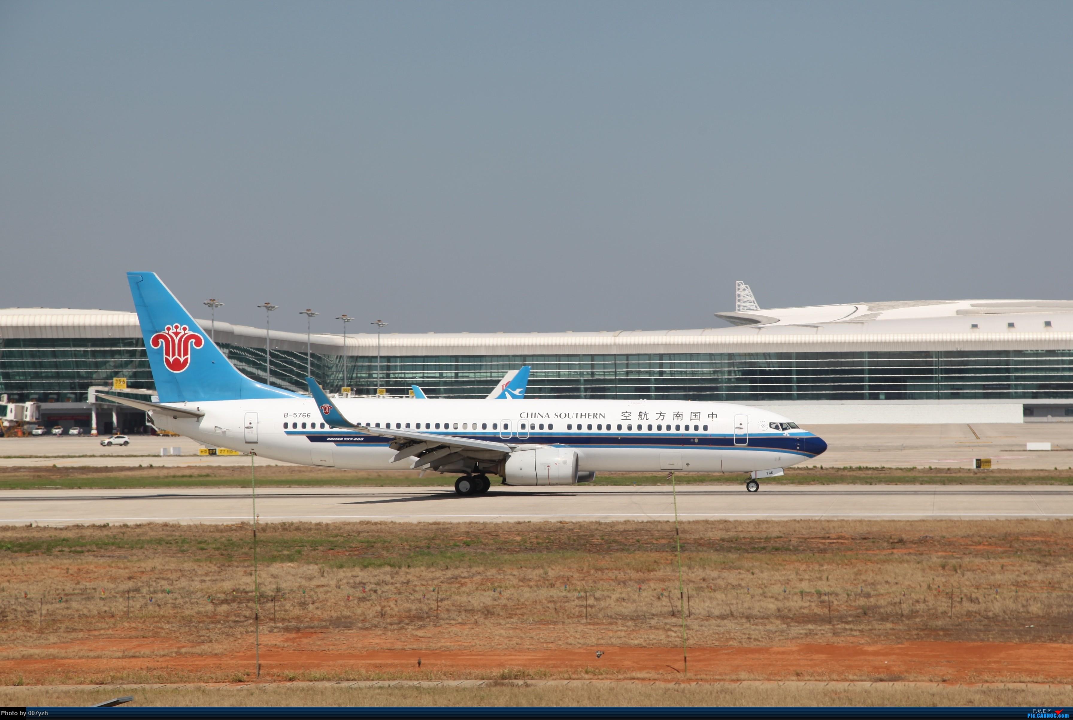 Re:[原创]奔着南航789来的武汉04R跑道拍机 BOEING 737-800 B-5766 中国武汉天河国际机场