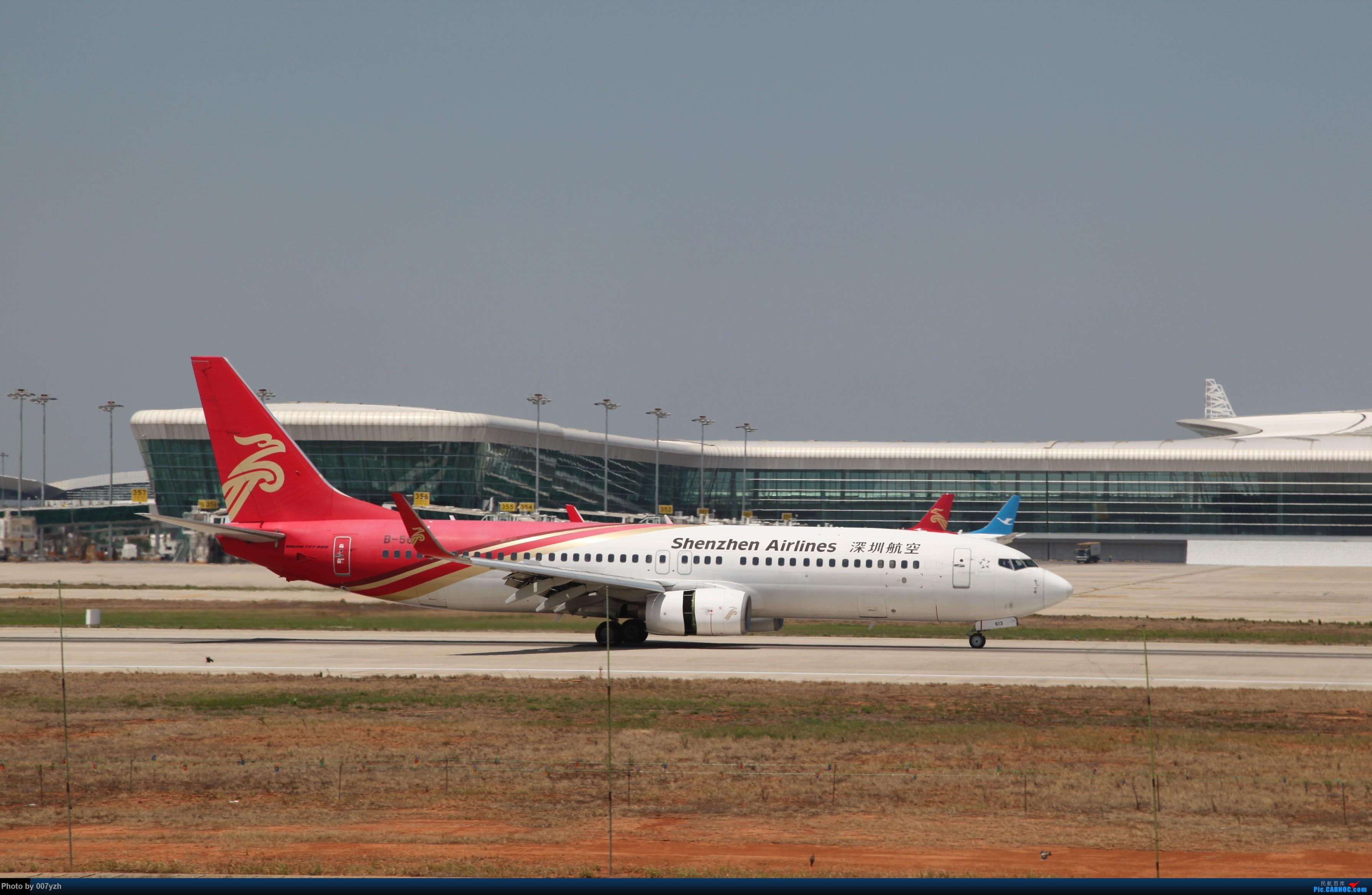Re:[原创]奔着南航789来的武汉04R跑道拍机 BOEING 737-800 B-5613 中国武汉天河国际机场