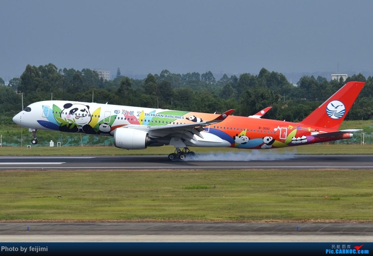 Re:[原创]【子安&拍机】8.26 成卢兹拍机记 AIRBUS A350-900 B-301D 中国成都双流国际机场