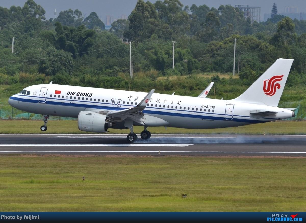 Re:[原创]【子安&拍机】8.26 成卢兹拍机记 AIRBUS A320NEO B-8890 中国成都双流国际机场