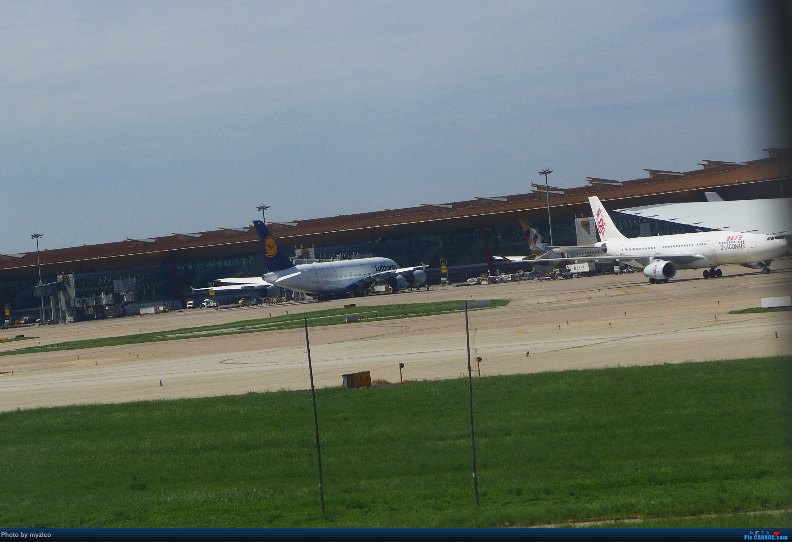 Re:[原创]【myzleo的游记3.1】三访帝都——记一次意外的惊喜,大鹅头初遇,第一次去中关村 AIRBUS A380-800  中国北京首都国际机场