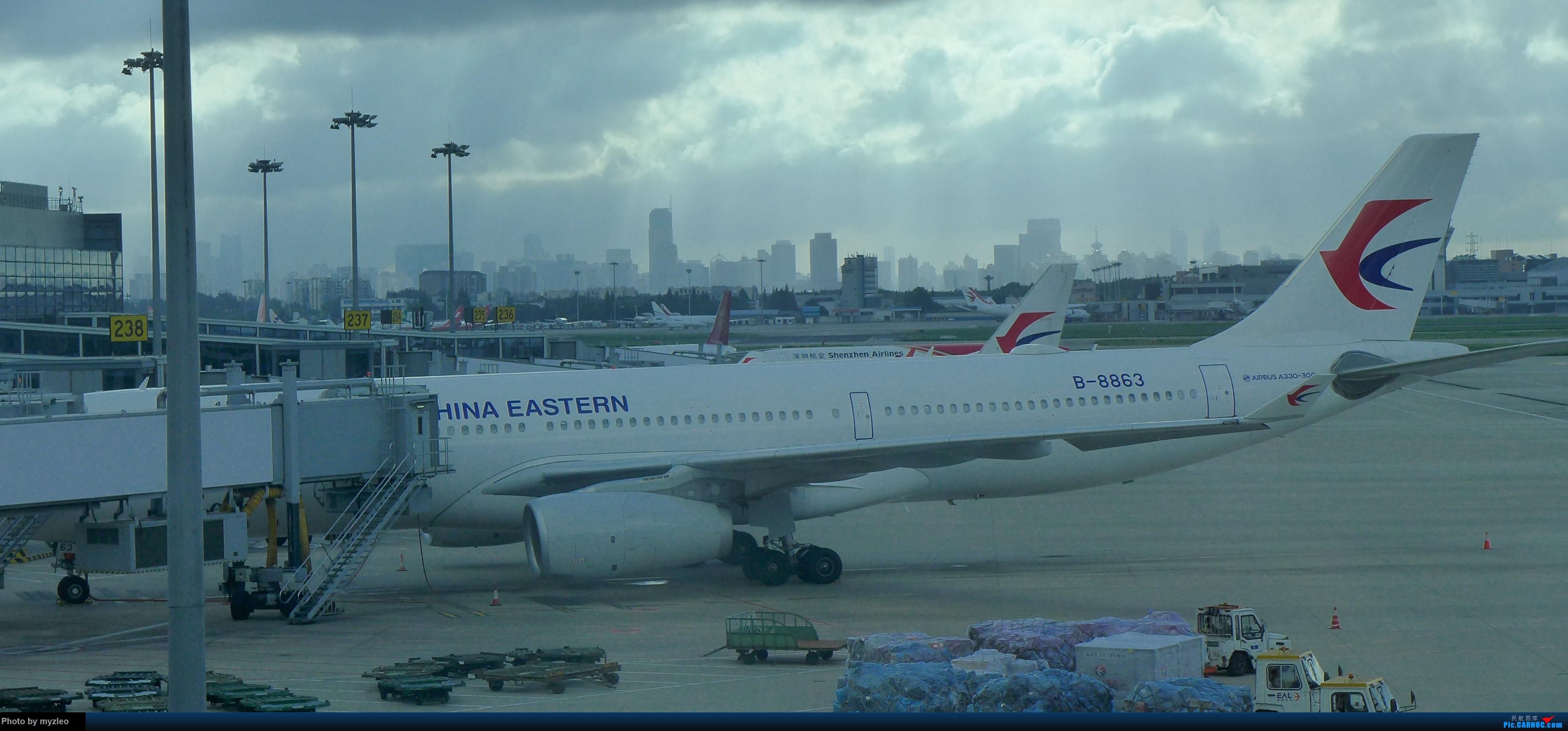 Re:[原创]【myzleo的游记3.1】三访帝都——记一次意外的惊喜,大鹅头初遇,第一次去中关村 AIRBUS A330-300 B-8863 中国上海虹桥国际机场