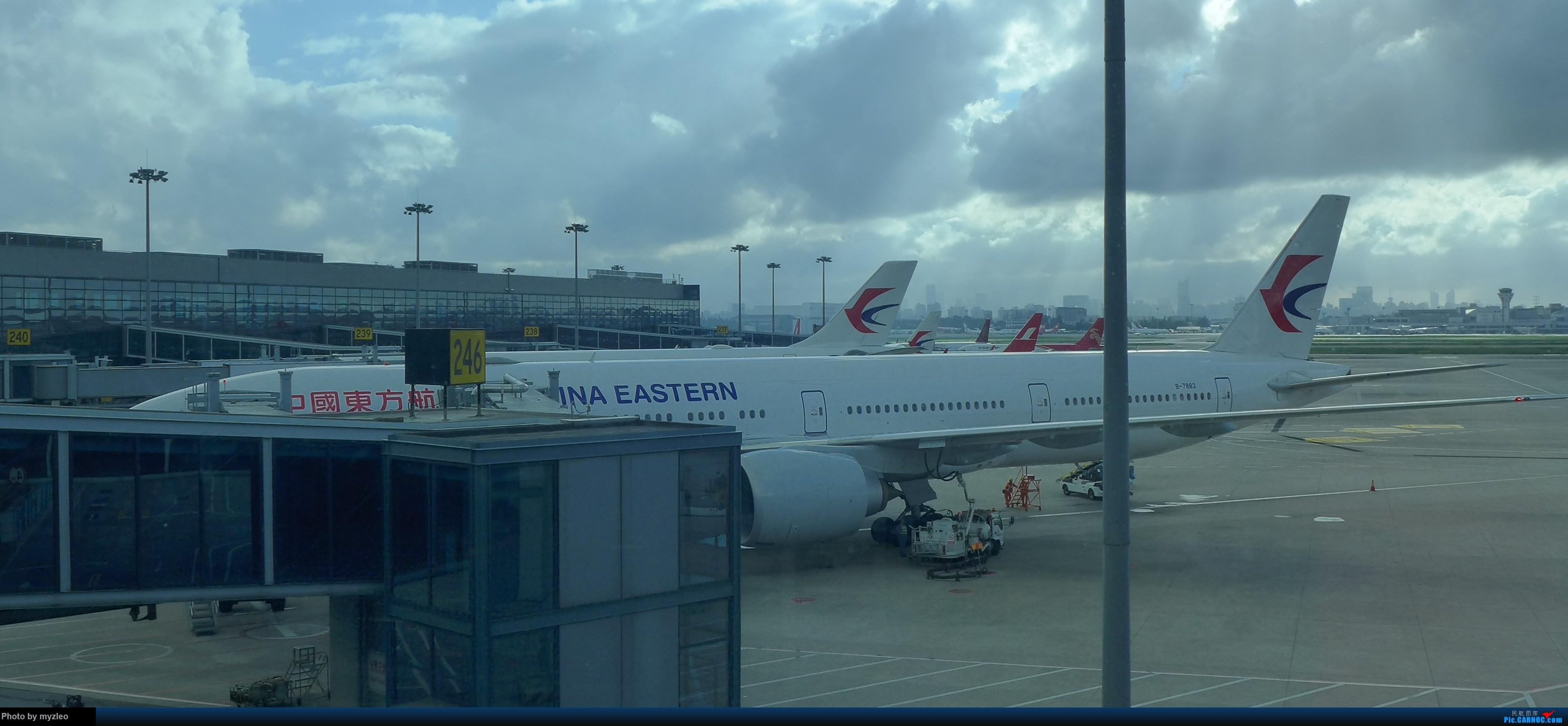 Re:[原创]【myzleo的游记3.1】三访帝都——记一次意外的惊喜,大鹅头初遇,第一次去中关村 BOEING 777-300ER B-7883 中国上海虹桥国际机场